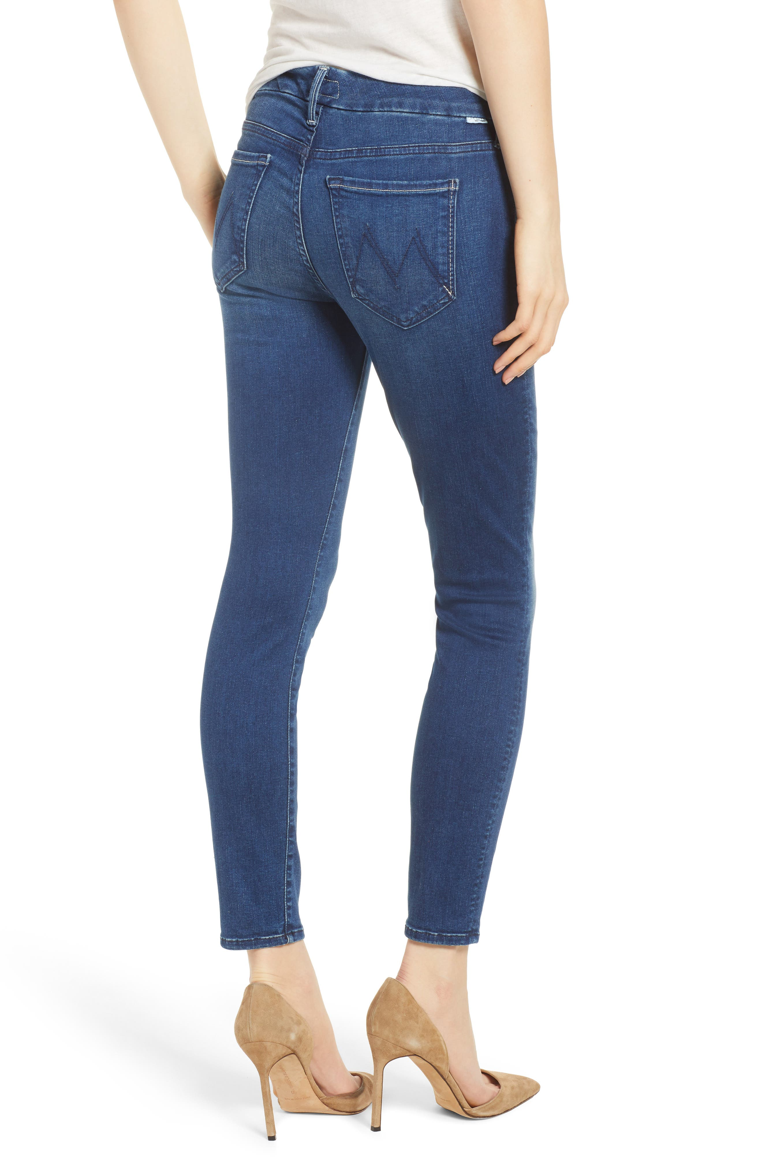 The Looker Crop Skinny Jeans,                             Alternate thumbnail 2, color,                             Fast Times