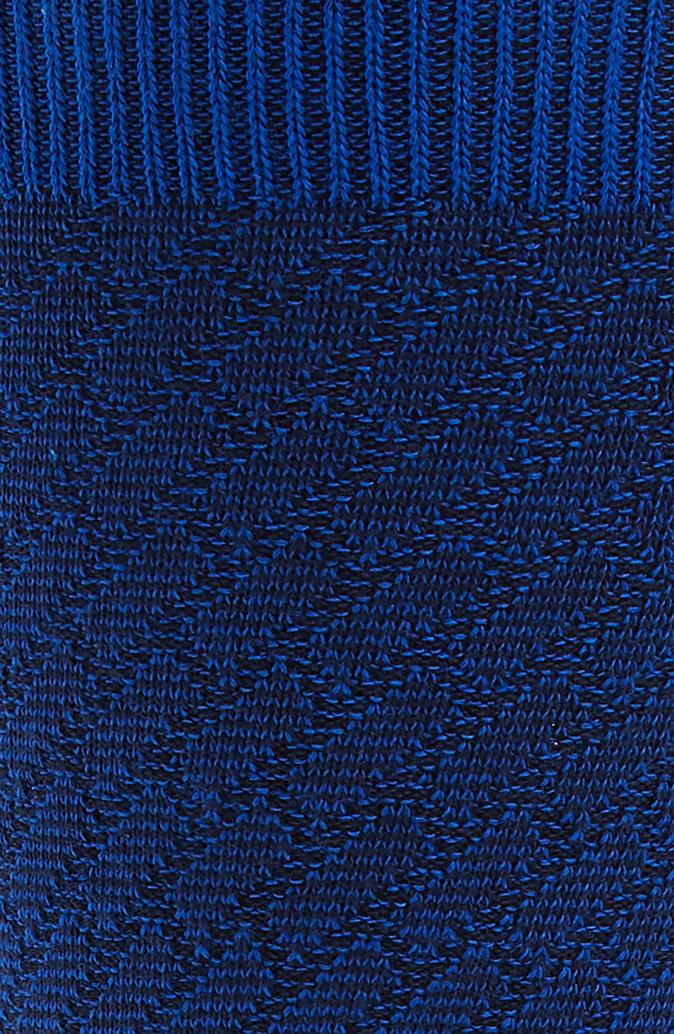Lozpro Geometric Socks,                             Alternate thumbnail 2, color,                             Blue