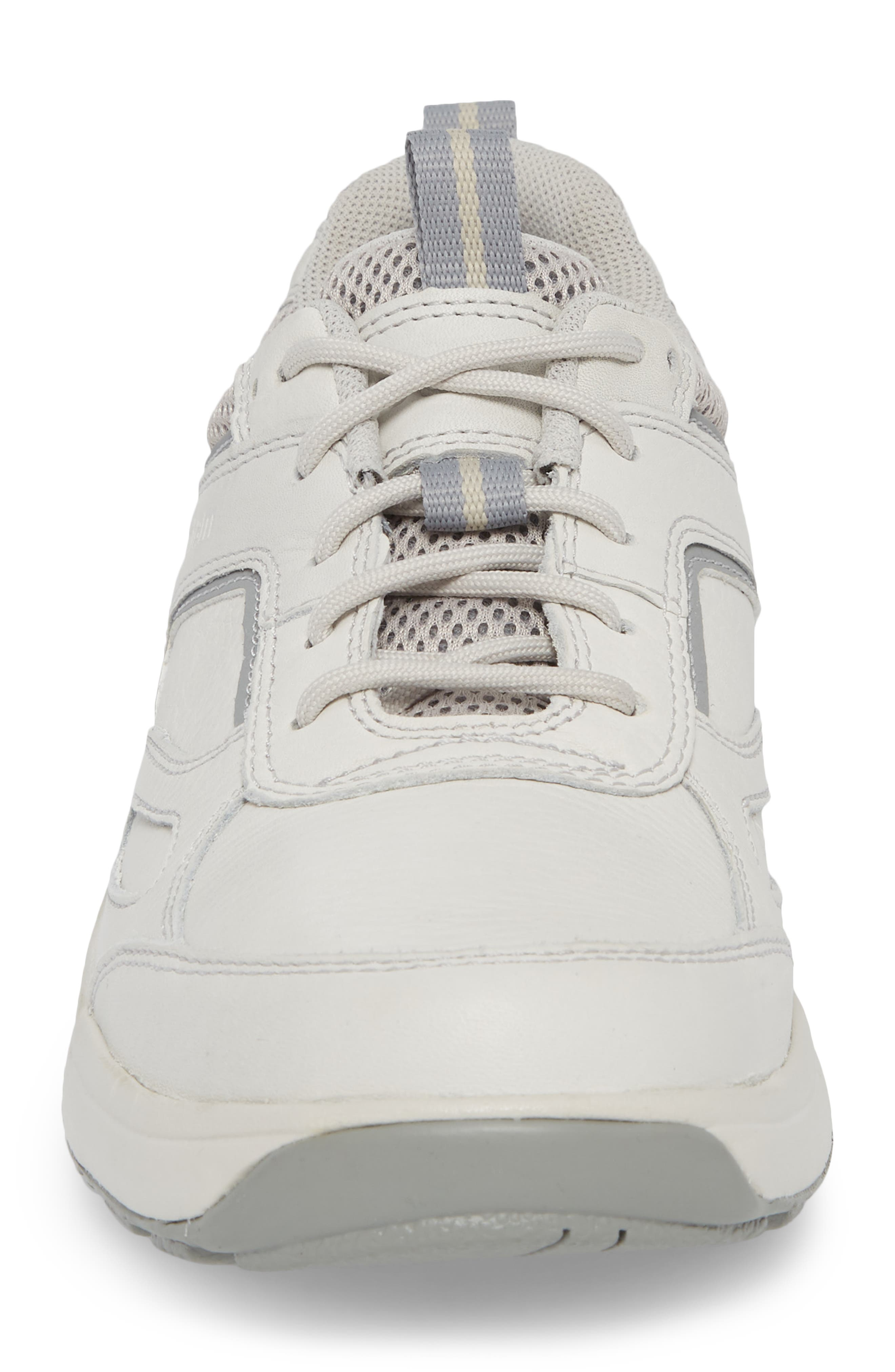 8000 Uball Sneaker,                             Alternate thumbnail 3, color,                             Off White Leather
