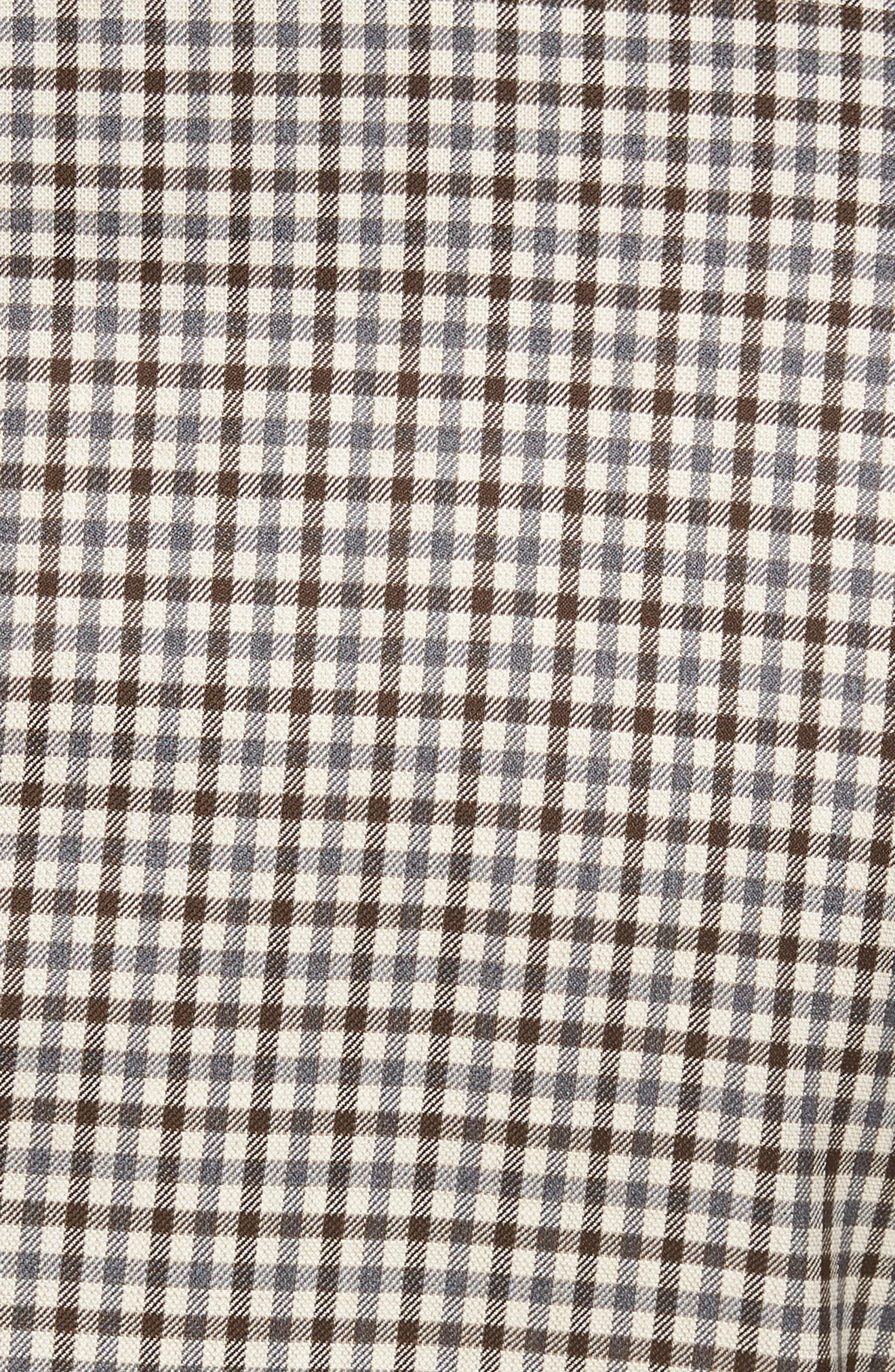 Classic Fit Check Wool Sport Coat,                             Alternate thumbnail 5, color,                             Tan/Grey