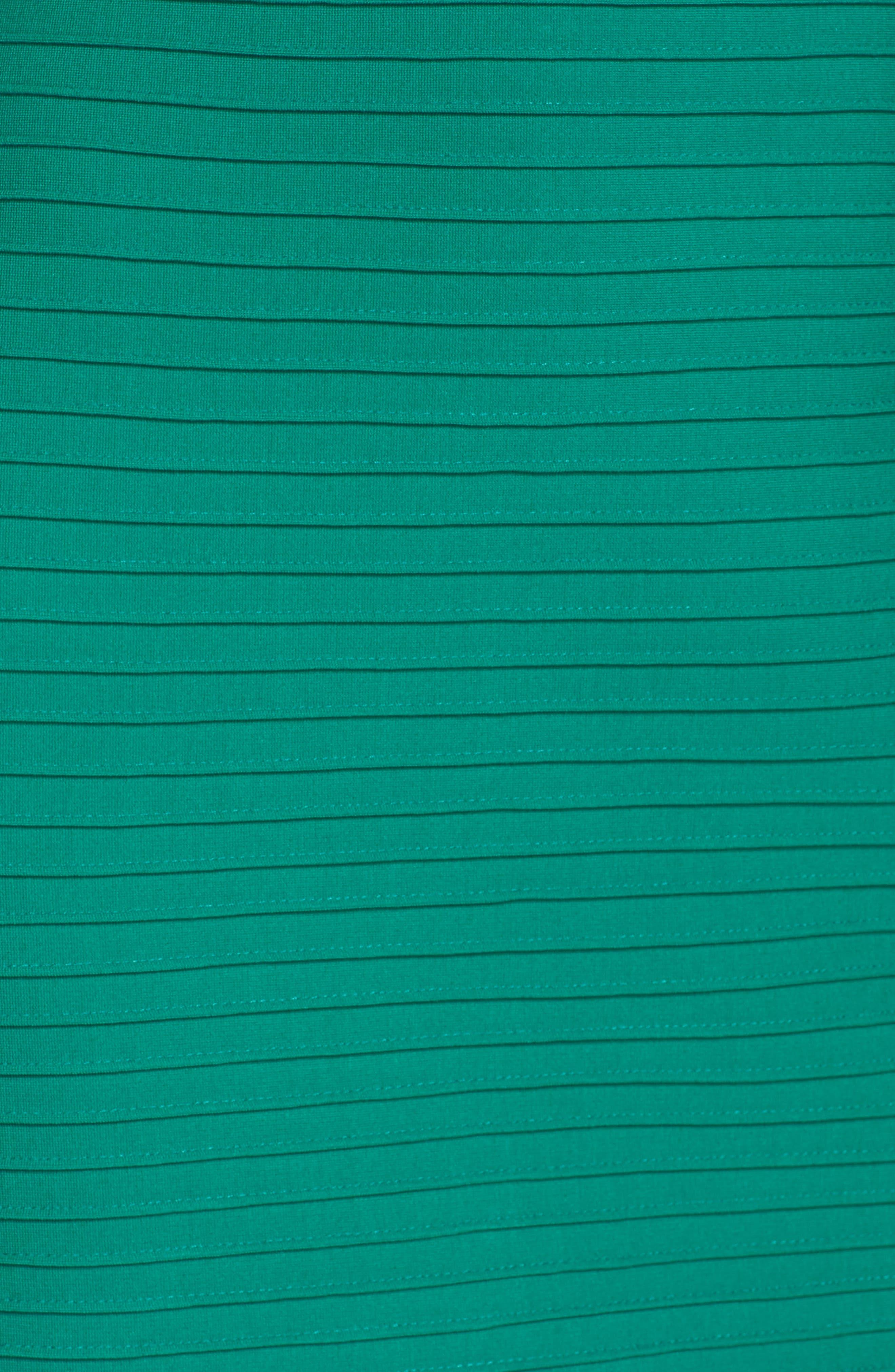 Alternate Image 5  - Tadashi Shoji Cold Shoulder Sheath Dress