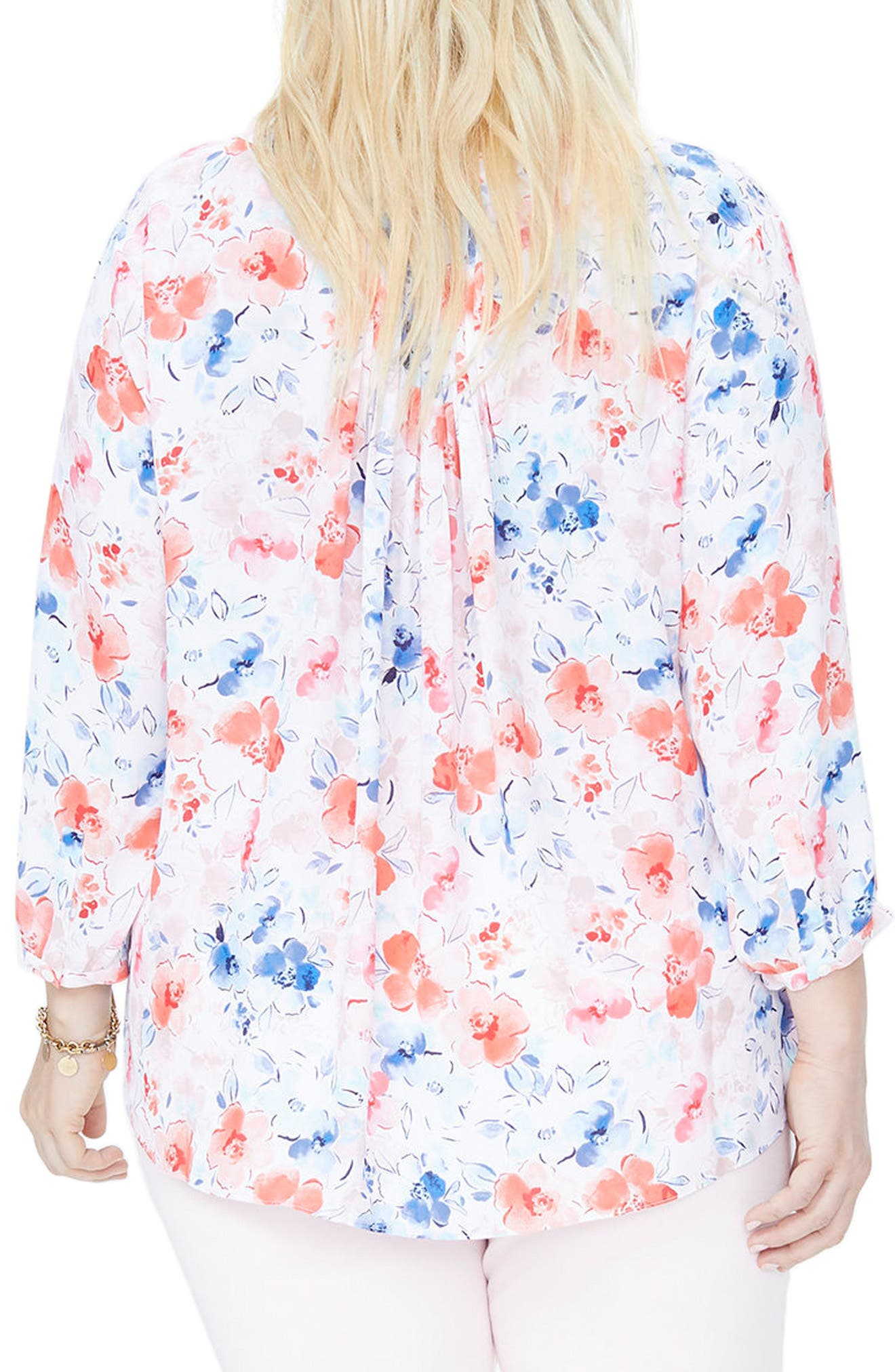 Alternate Image 2  - NYDJ Blouse (Plus Size)