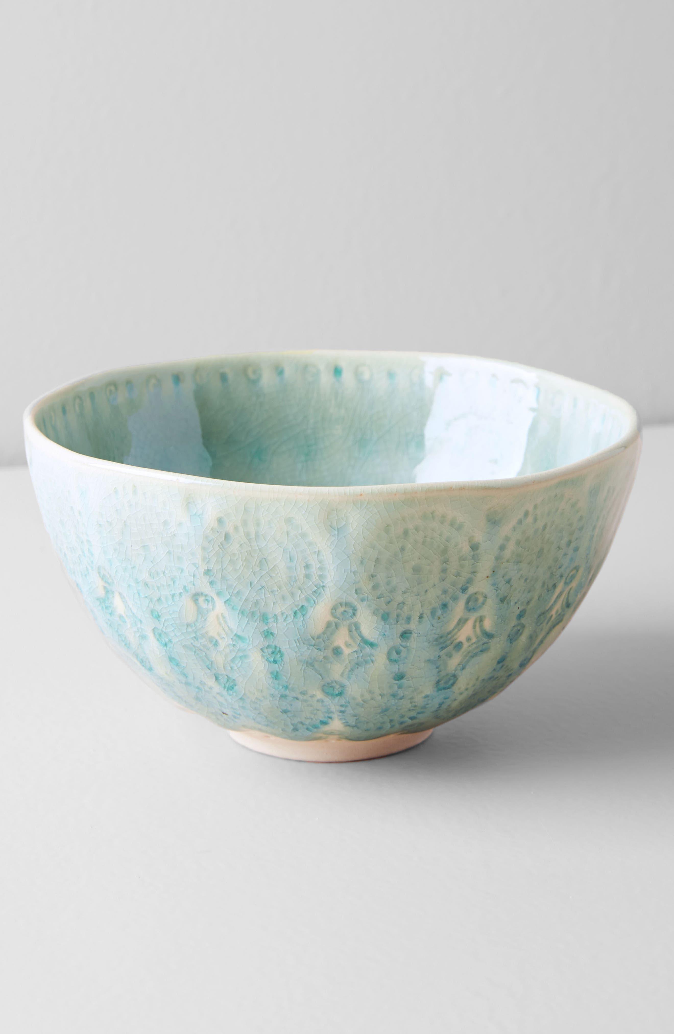 Old Havana Stoneware Cereal Bowl,                             Alternate thumbnail 3, color,                             Mint