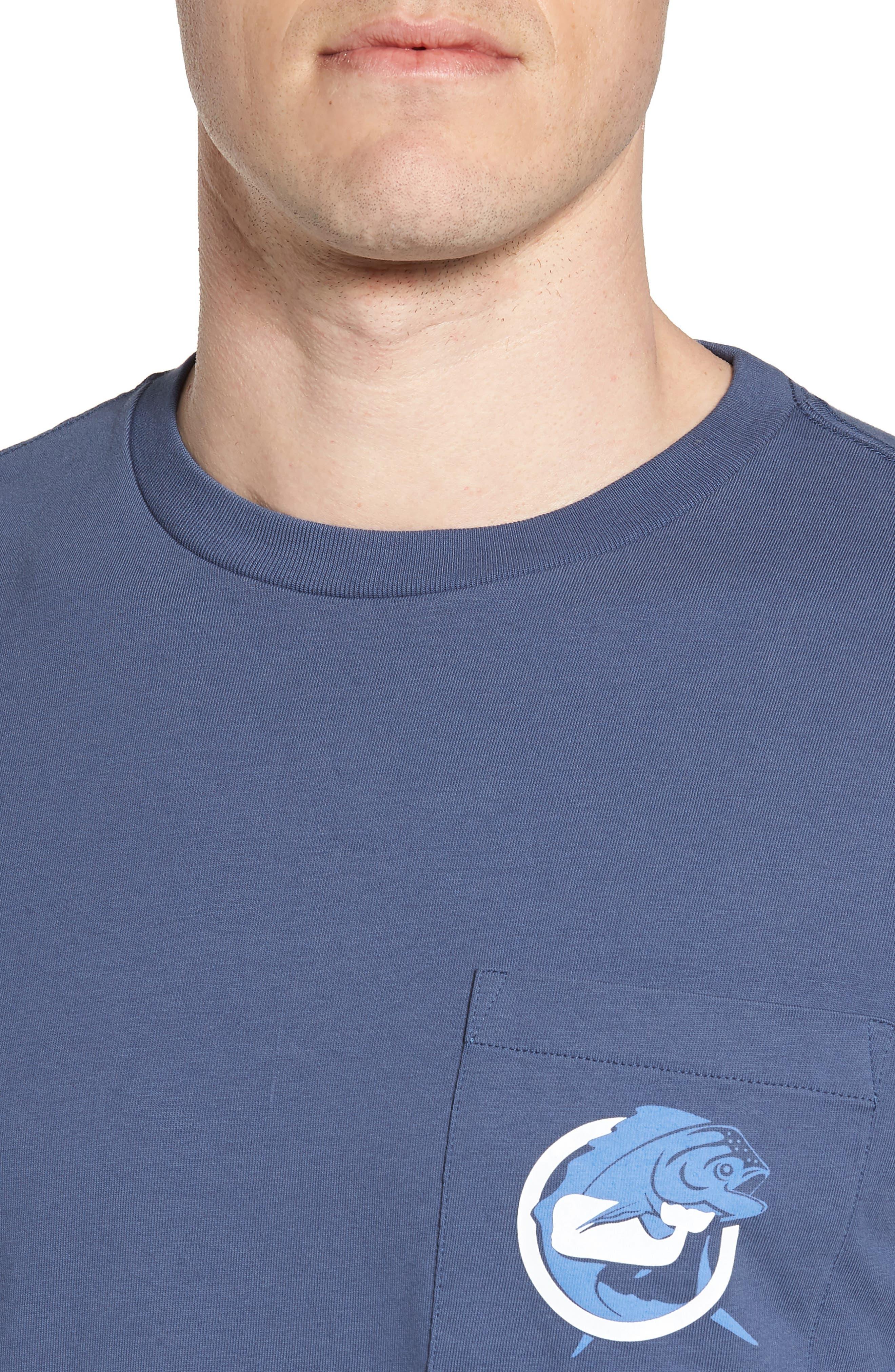 Mahi Long Sleeve T-Shirt,                             Alternate thumbnail 4, color,                             Moonshine