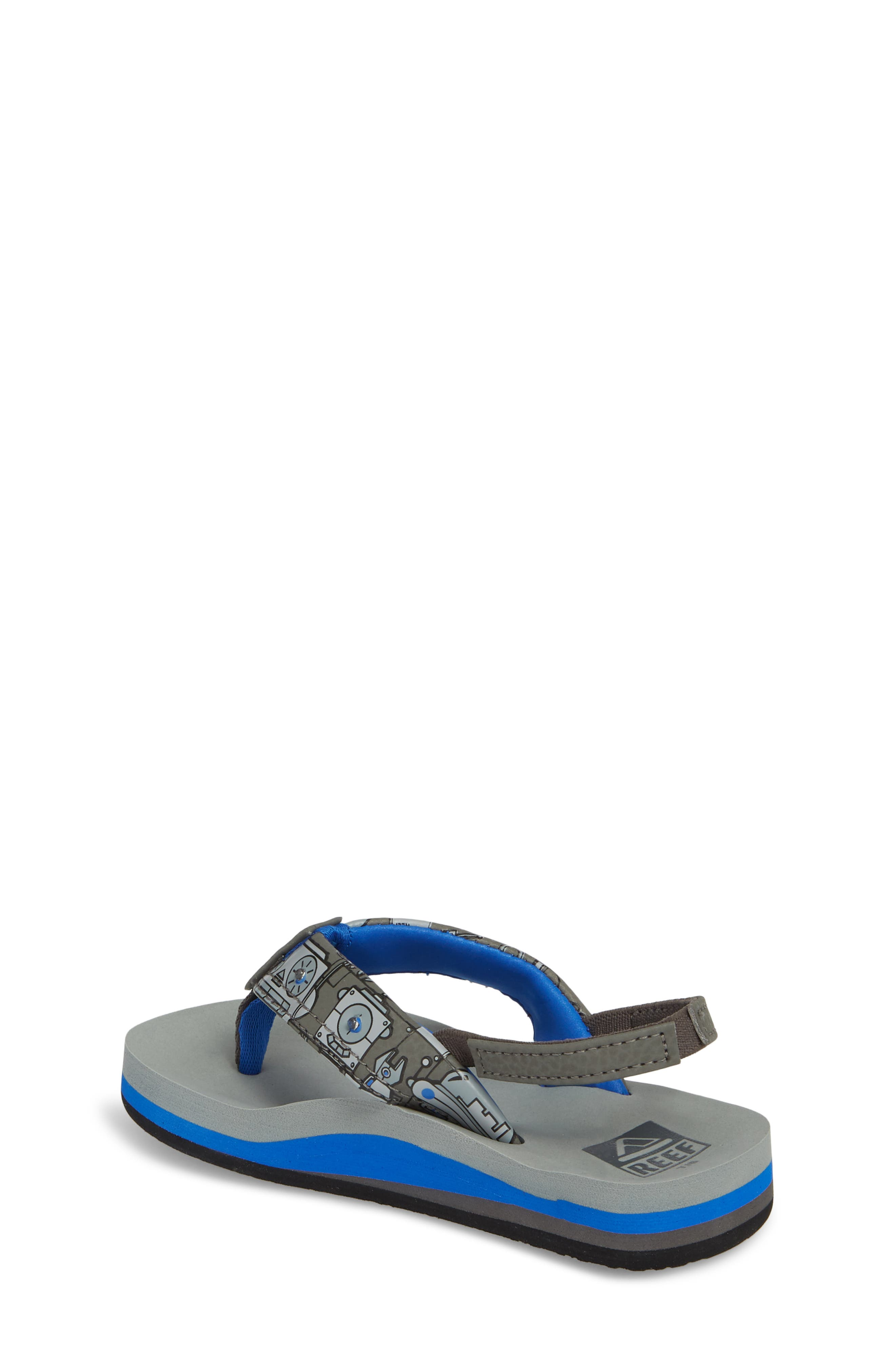 Ahi Light-Up Flip Flop,                             Alternate thumbnail 2, color,                             Grey
