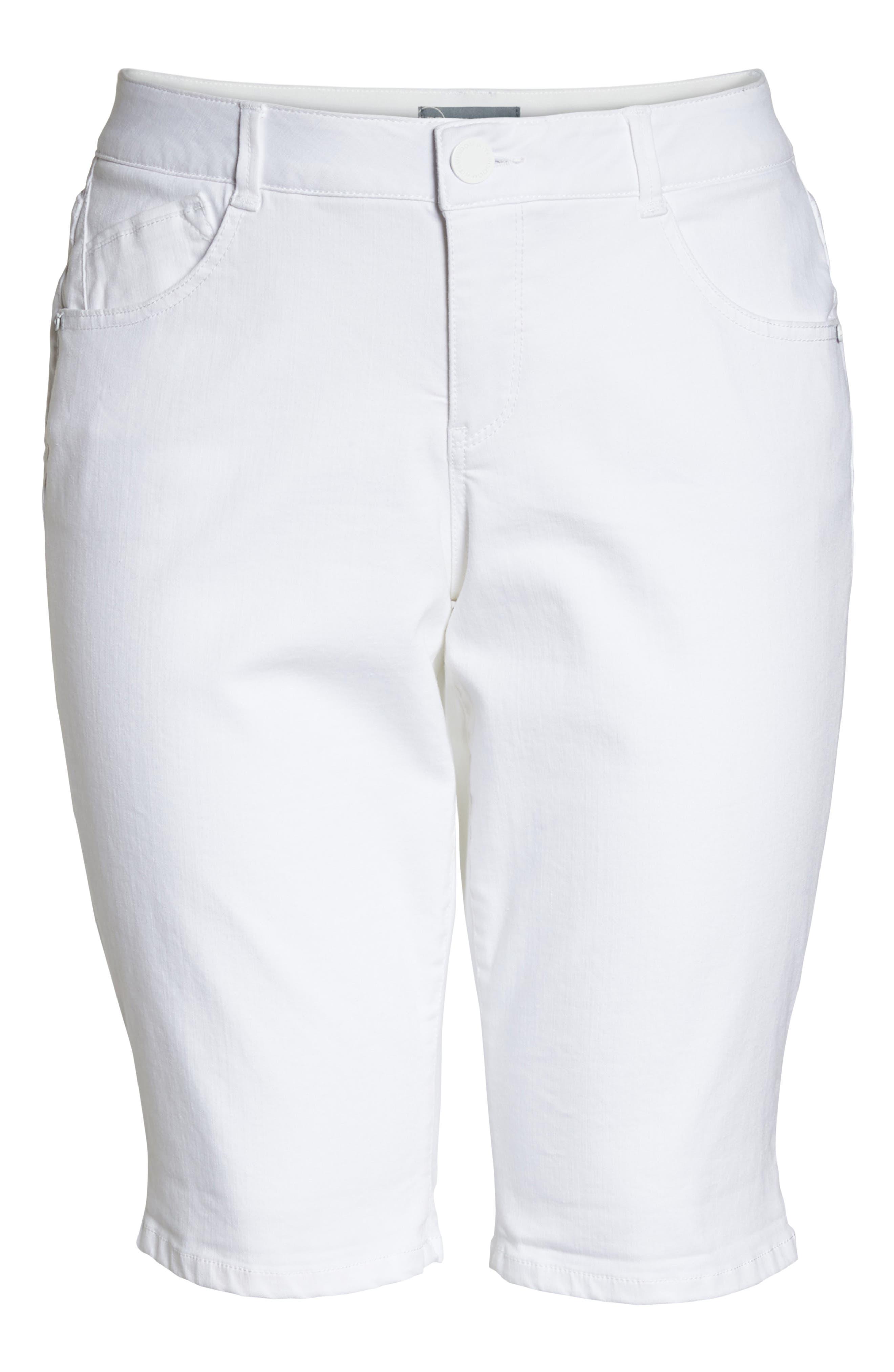 Ab-solution Bermuda Shorts,                             Alternate thumbnail 7, color,                             Optic White