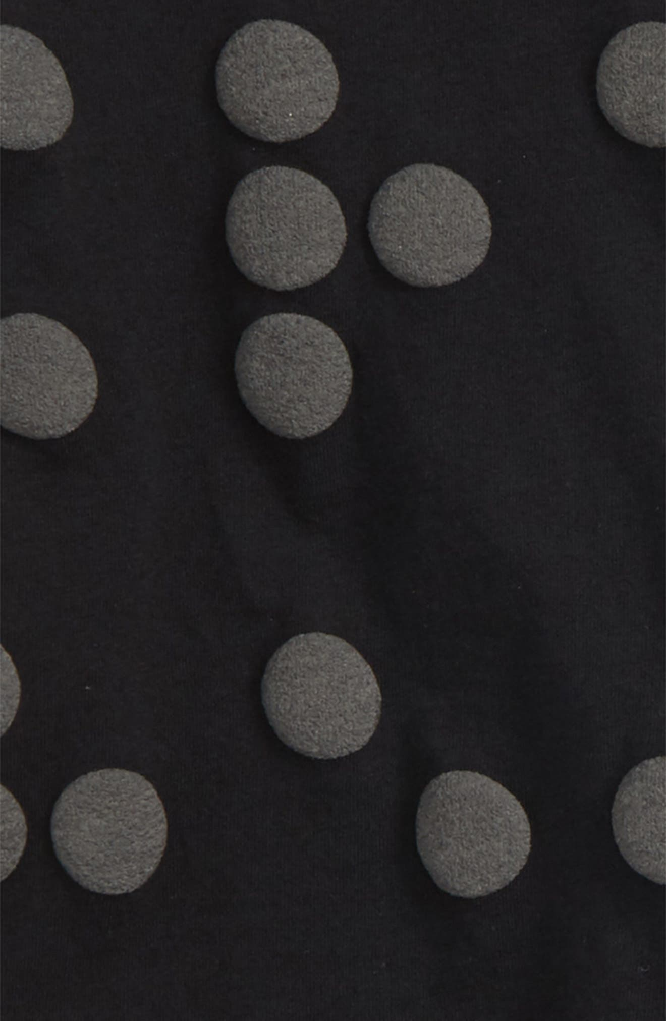 Braille Shirt & Pants Set,                             Alternate thumbnail 2, color,                             Black