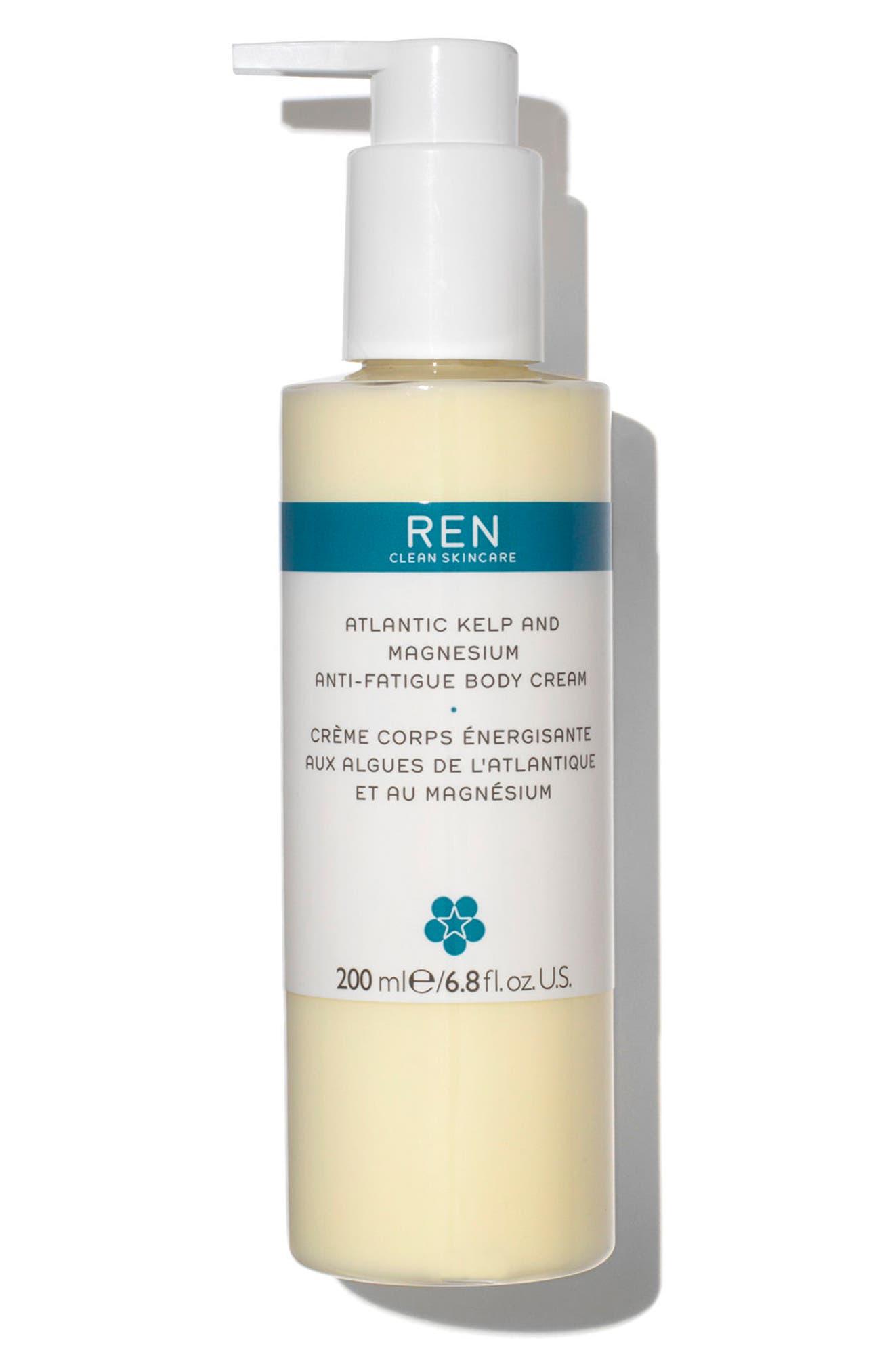 SPACE.NK.apothecary REN Atlantic Kelp and Magnesium Anti-Fatigue Body Cream,                             Main thumbnail 1, color,                             No Color