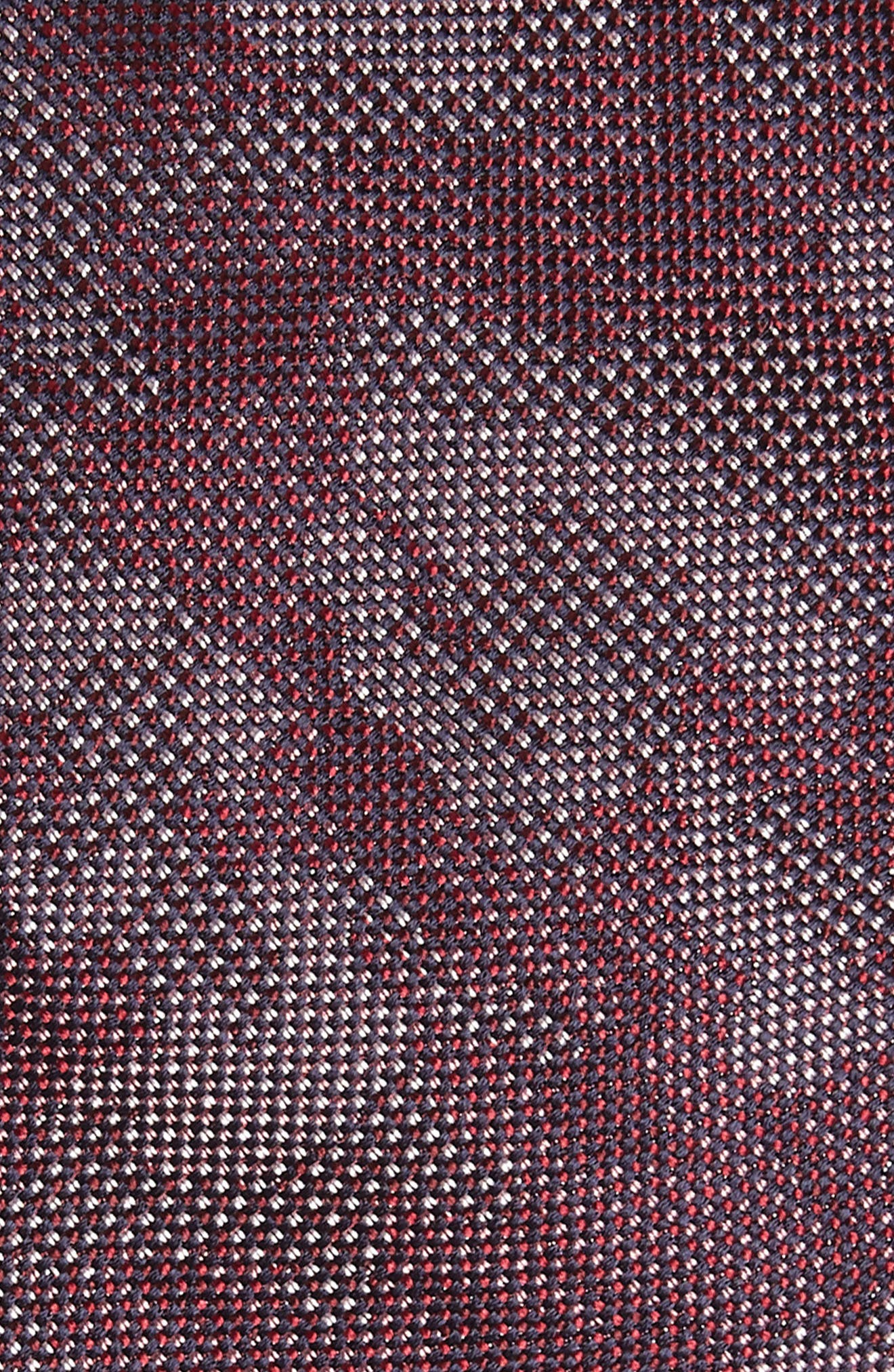 Camo Silk Tie,                             Alternate thumbnail 2, color,                             Burgundy