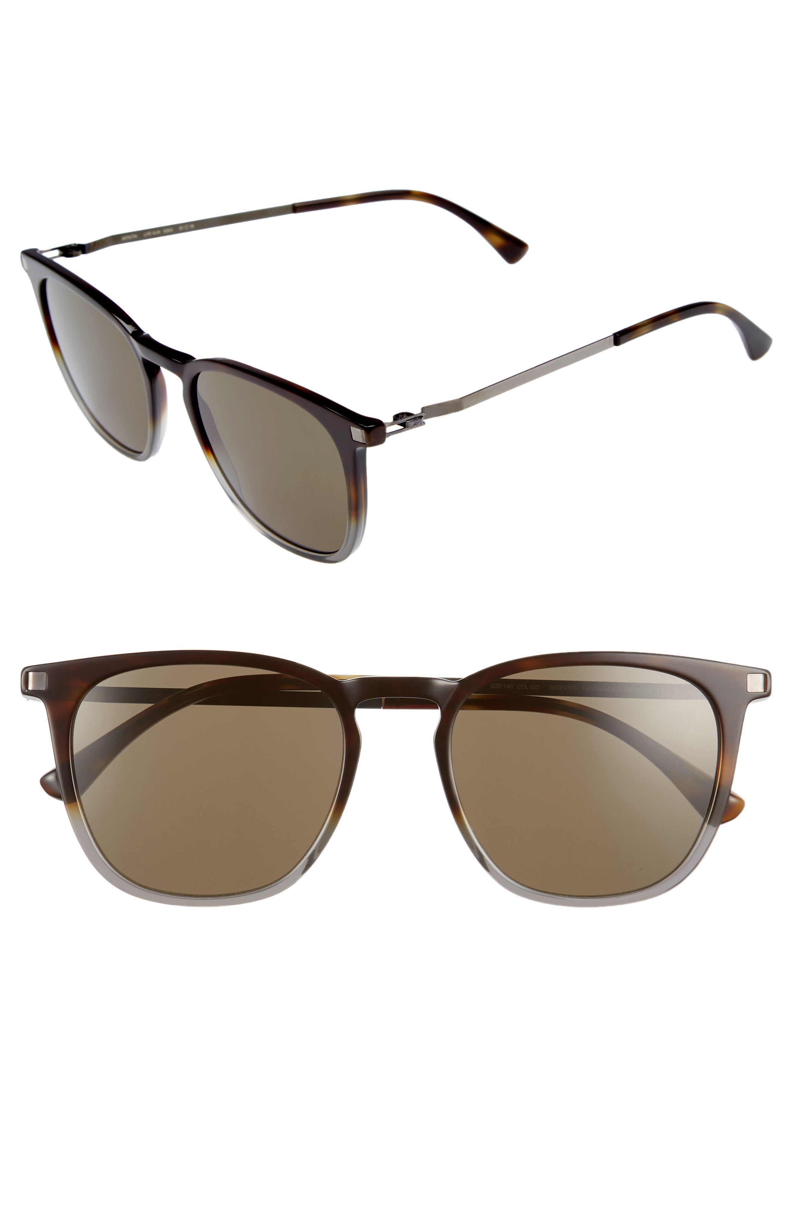 Eska 51mm Sunglasses,                         Main,                         color, Santiago Gradient/ Graphite