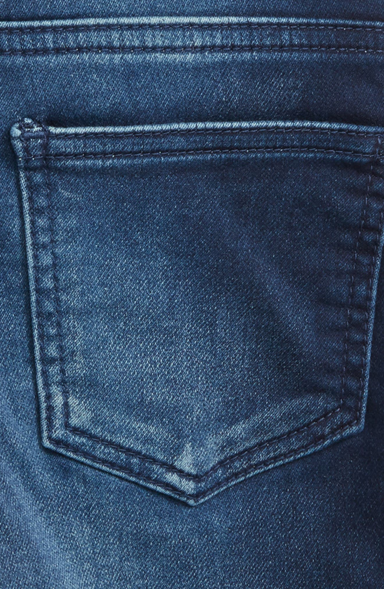 Carl Denim Shorts,                             Alternate thumbnail 3, color,                             Blue
