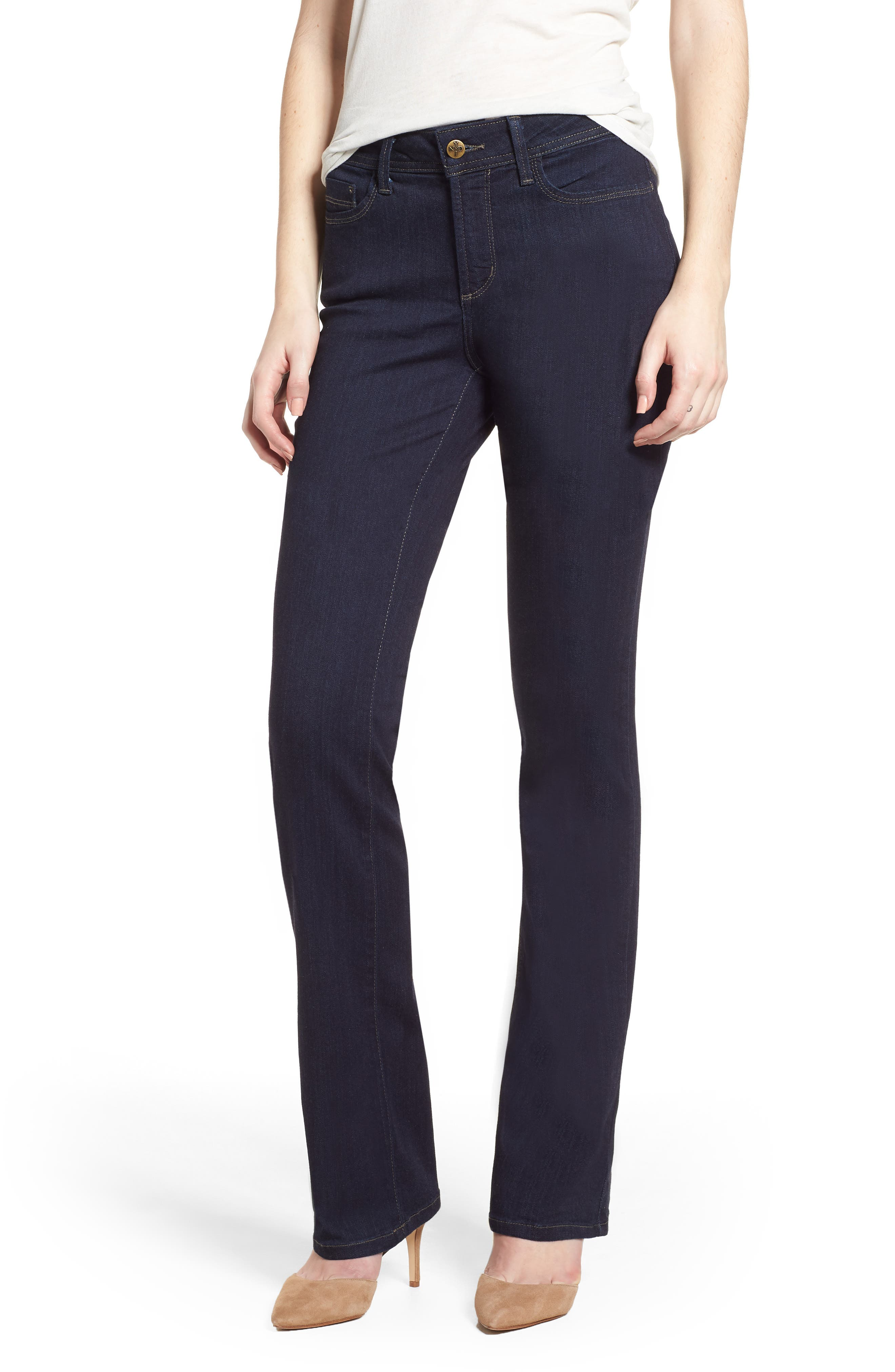 Billie Mini Bootcut Jeans,                         Main,                         color, Mabel