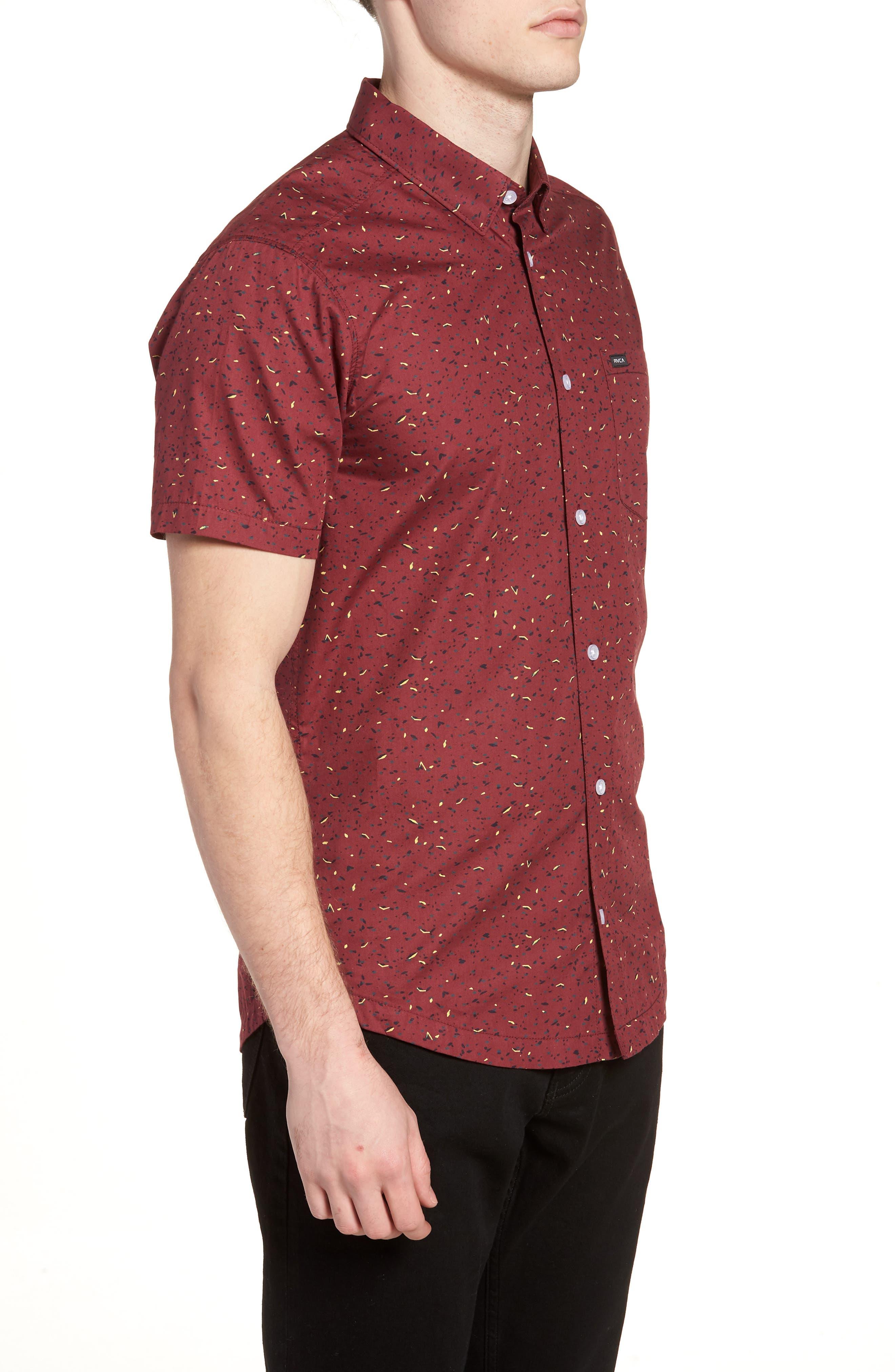 Jaded Woven Shirt,                             Alternate thumbnail 4, color,                             Tawny Port