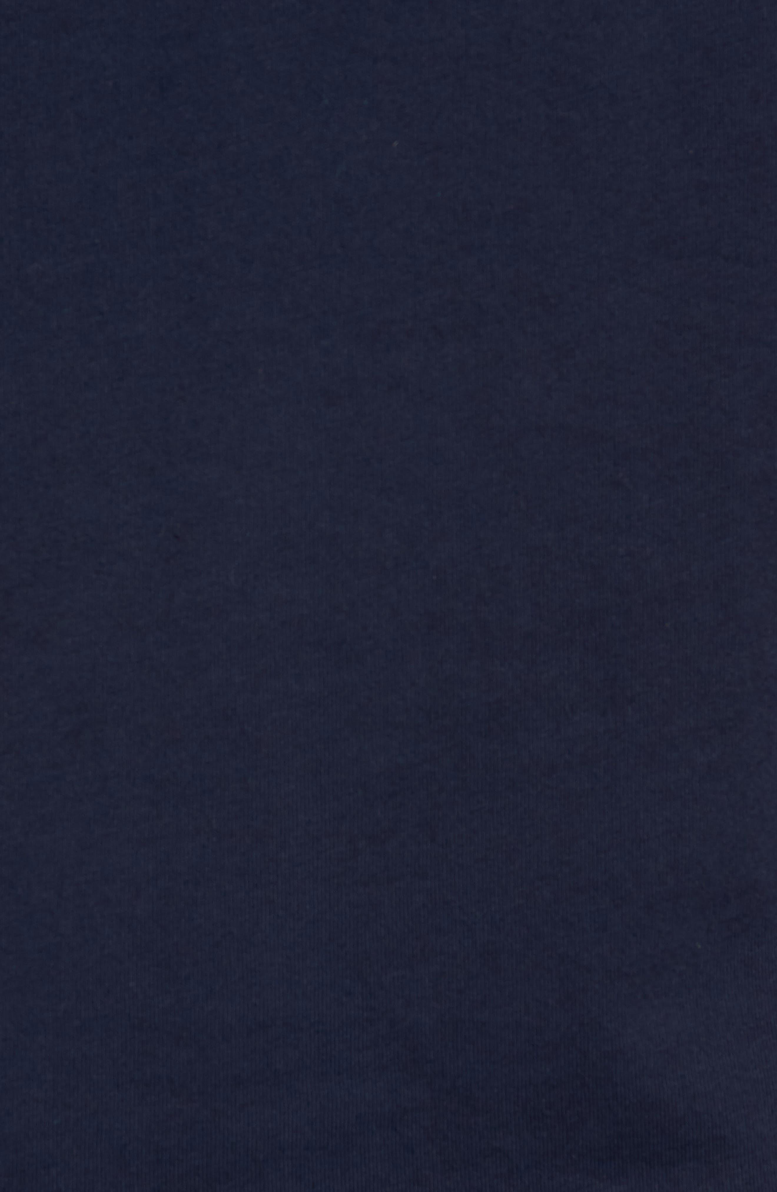 Vintage Croc Crewneck T-Shirt,                             Alternate thumbnail 5, color,                             Navy Blue