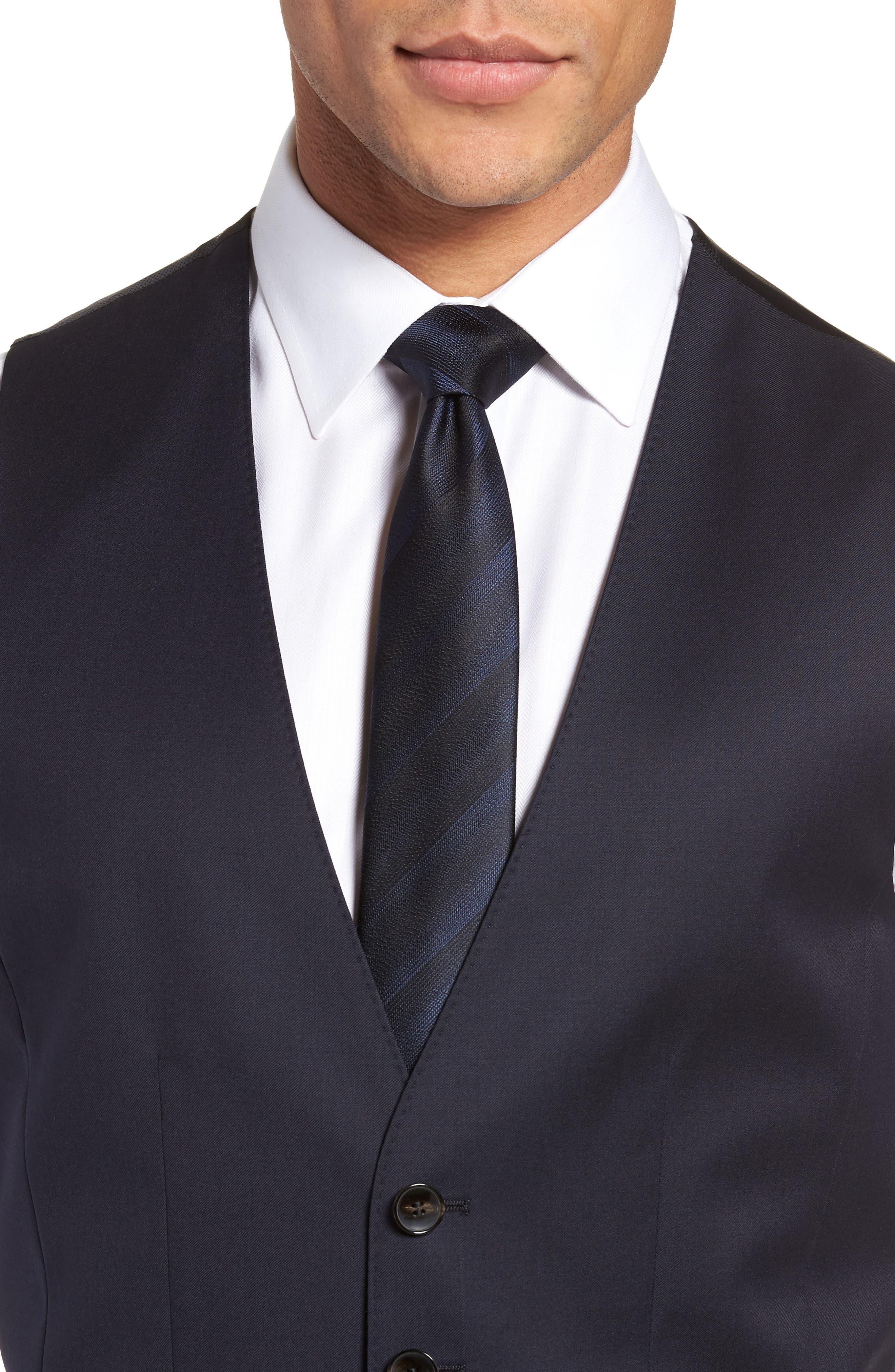 Wilson CYL Trim Fit Vest,                             Alternate thumbnail 4, color,                             Dark Blue