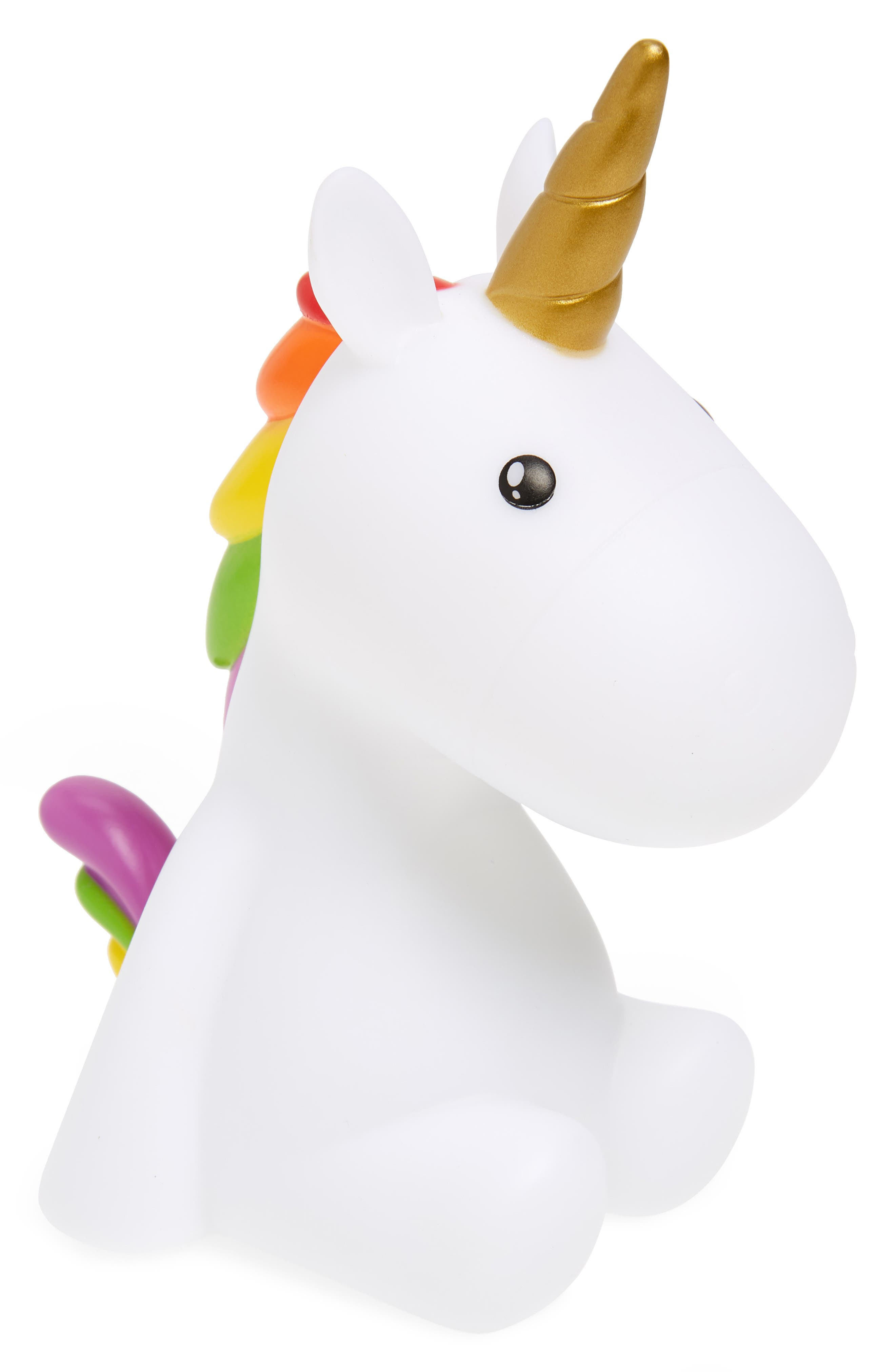 Unicorn Color Changing Night Light,                         Main,                         color, White