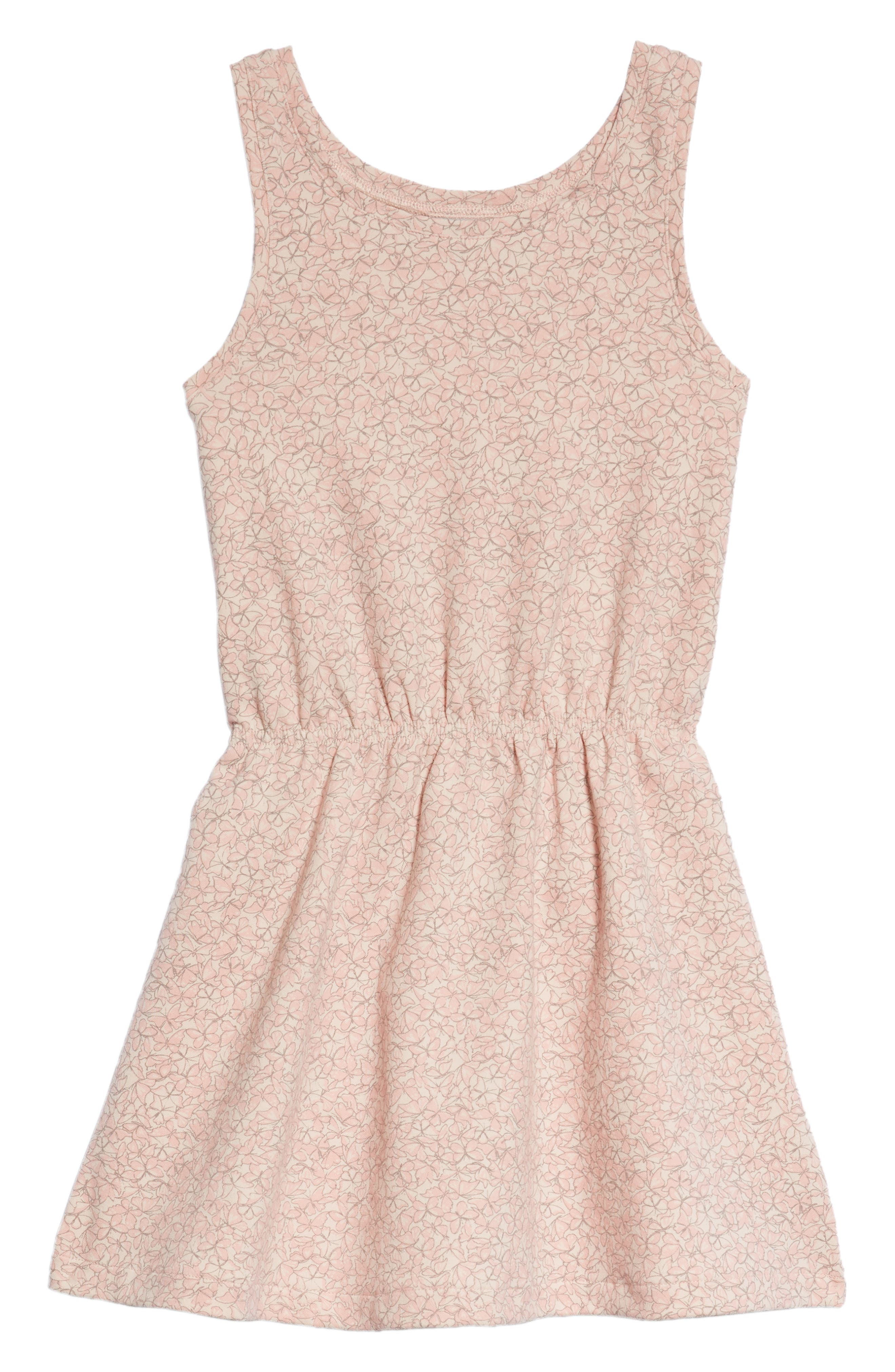 Wheat Bridgit Dress (Toddler Girls, Little Girls & Big Girls)