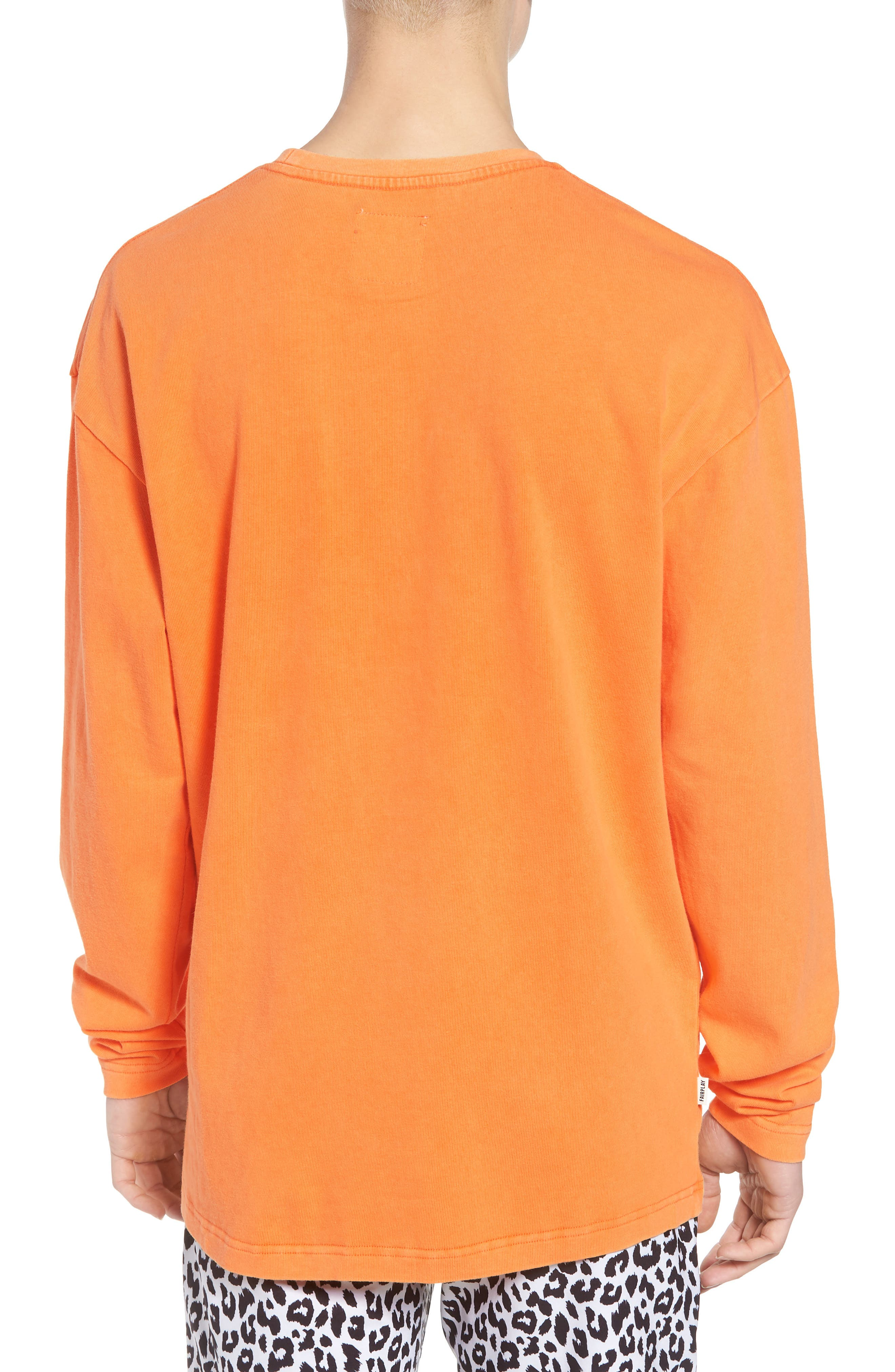 Anderson Sweatshirt,                             Alternate thumbnail 2, color,                             Orange