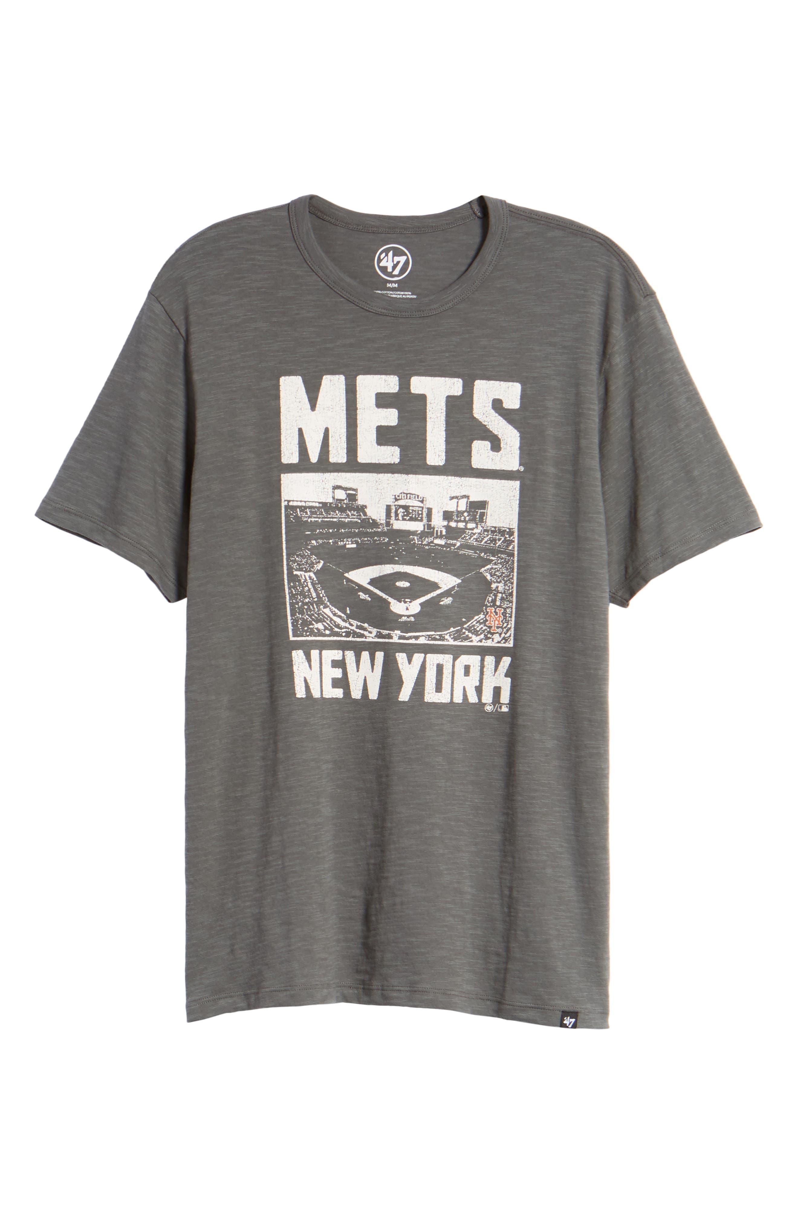 MLB Overdrive Scrum New York Mets T-Shirt,                             Alternate thumbnail 6, color,                             Submarine