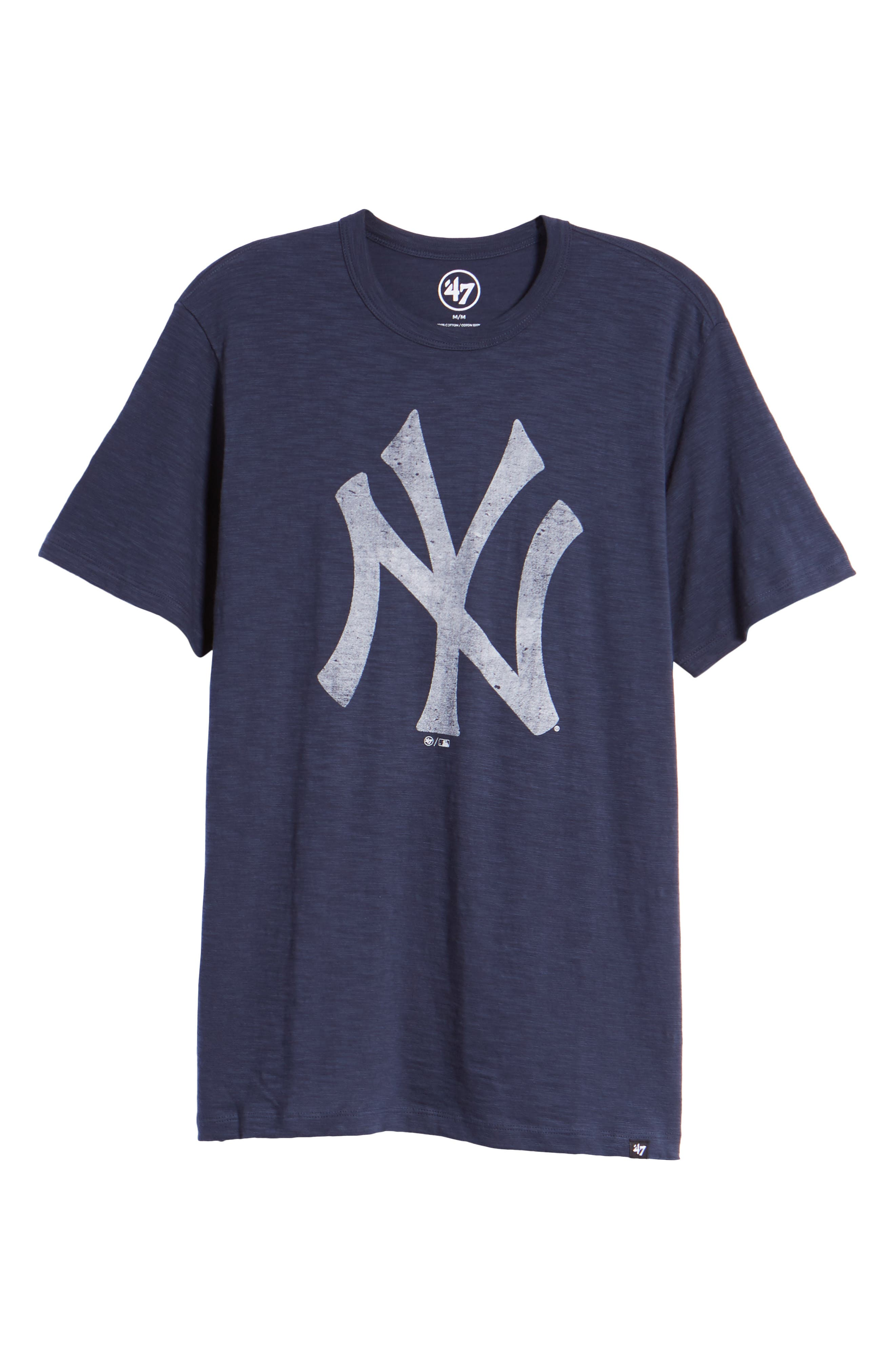 MLB Grit Scrum New York Yankees T-Shirt,                             Alternate thumbnail 6, color,                             Midnight