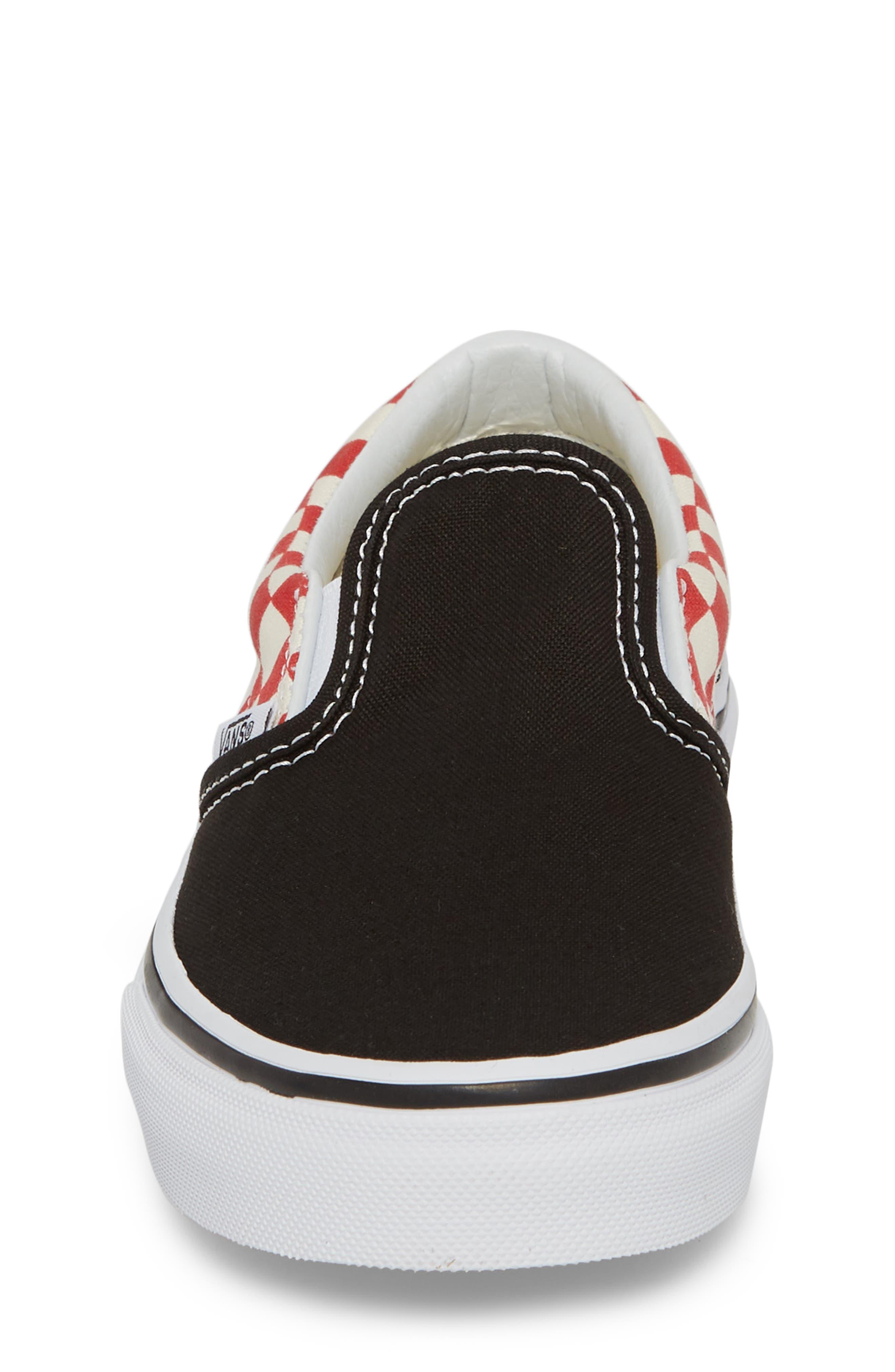 Alternate Image 4  - Vans 'Classic - Checker' Slip-On (Toddler, Little Kid & Big Kid)