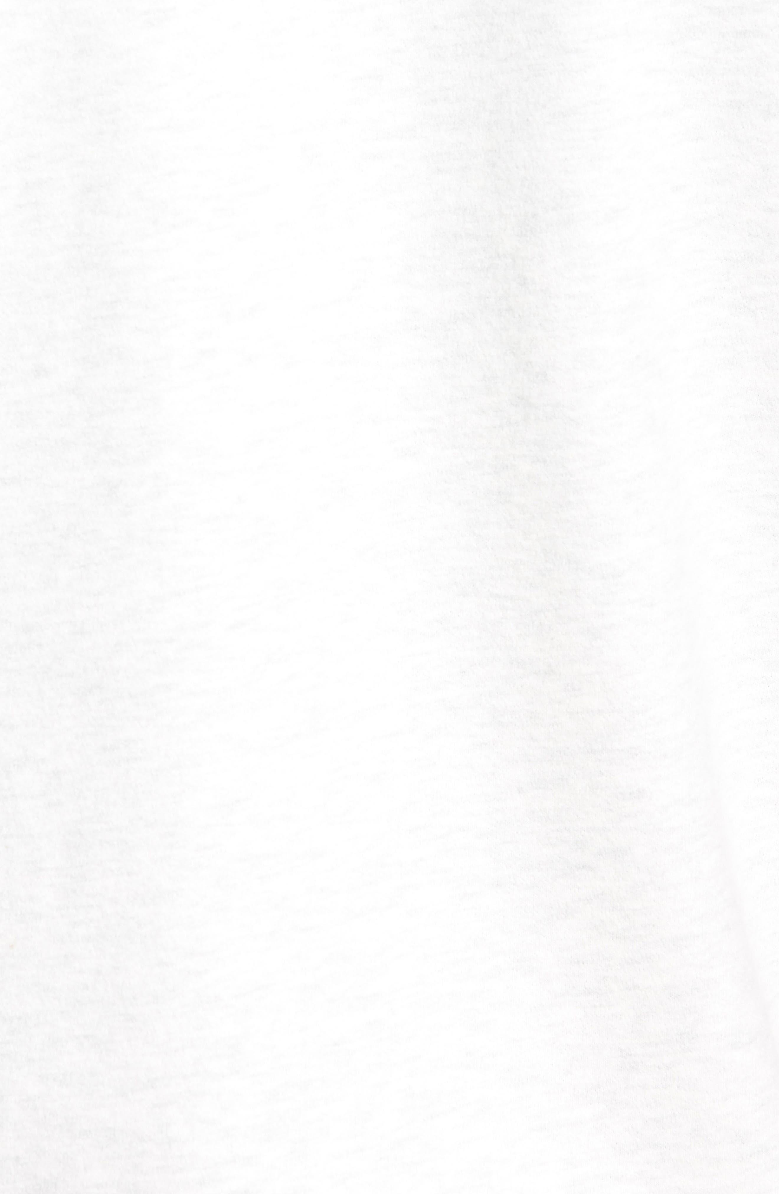 Raw Edge T-Shirt,                             Alternate thumbnail 5, color,                             H. Ash
