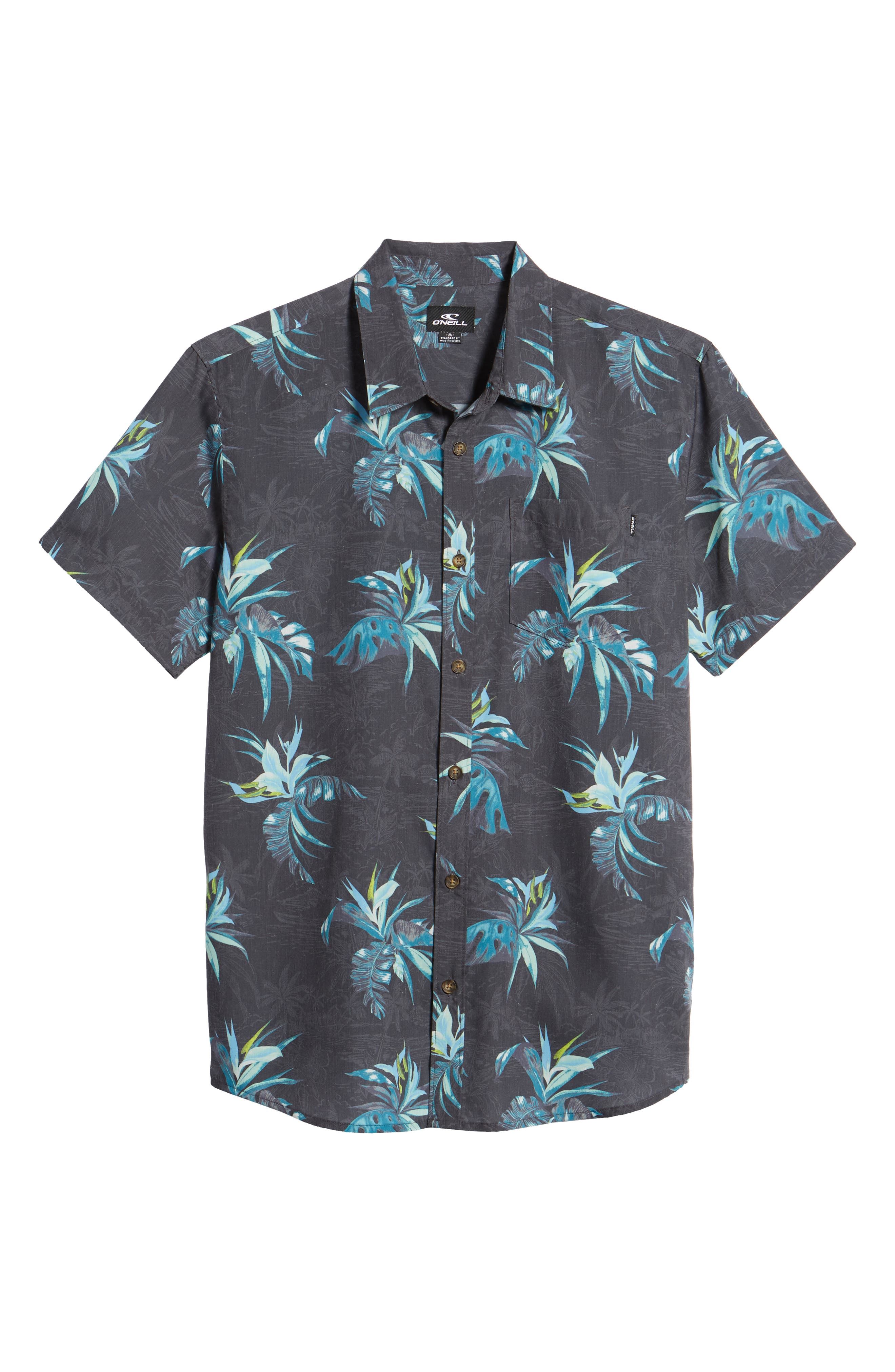 Islander Short Sleeve Shirt,                             Alternate thumbnail 6, color,                             Mint