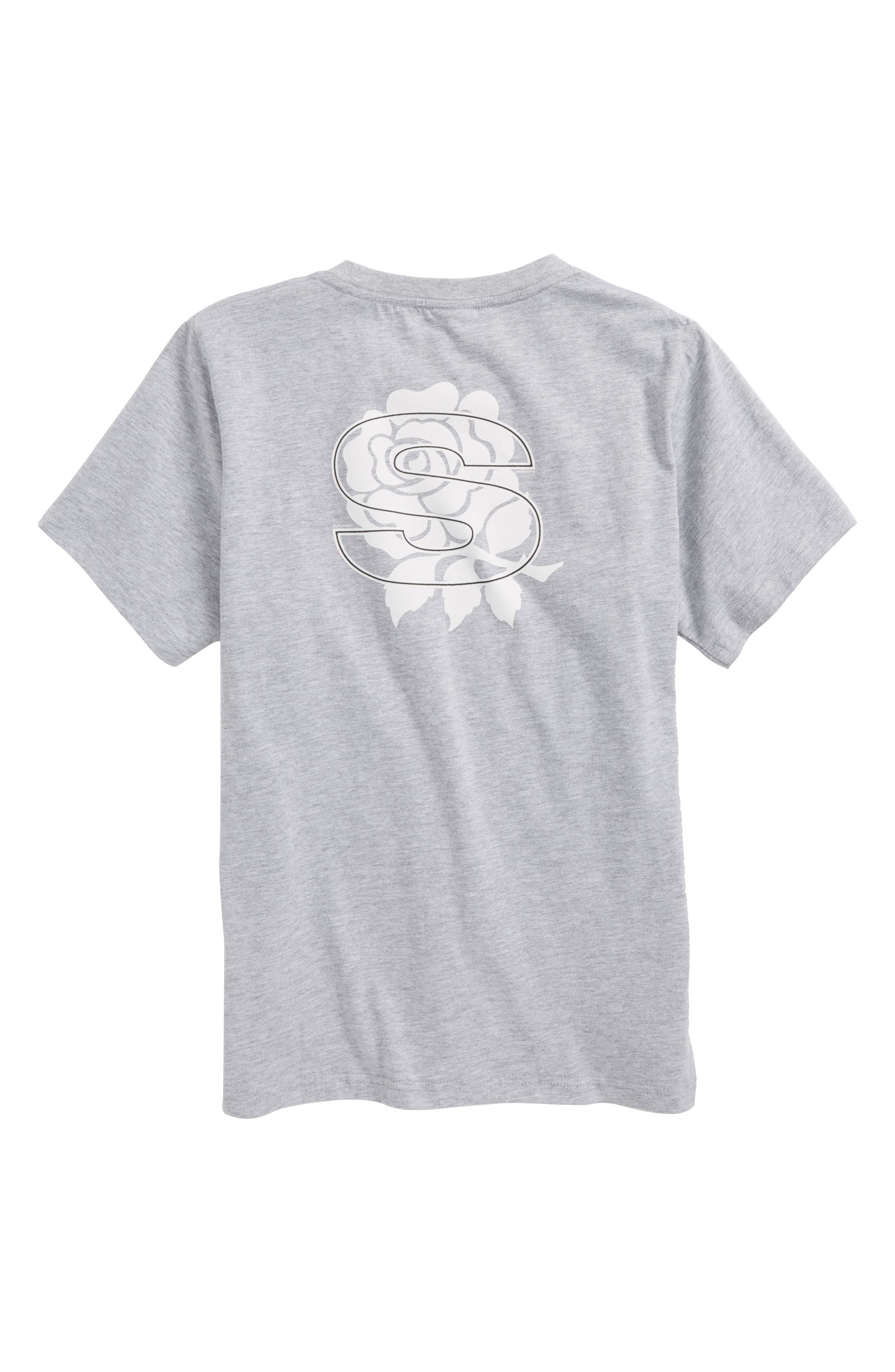Rose Vision T-Shirt,                             Alternate thumbnail 2, color,                             Heather Grey