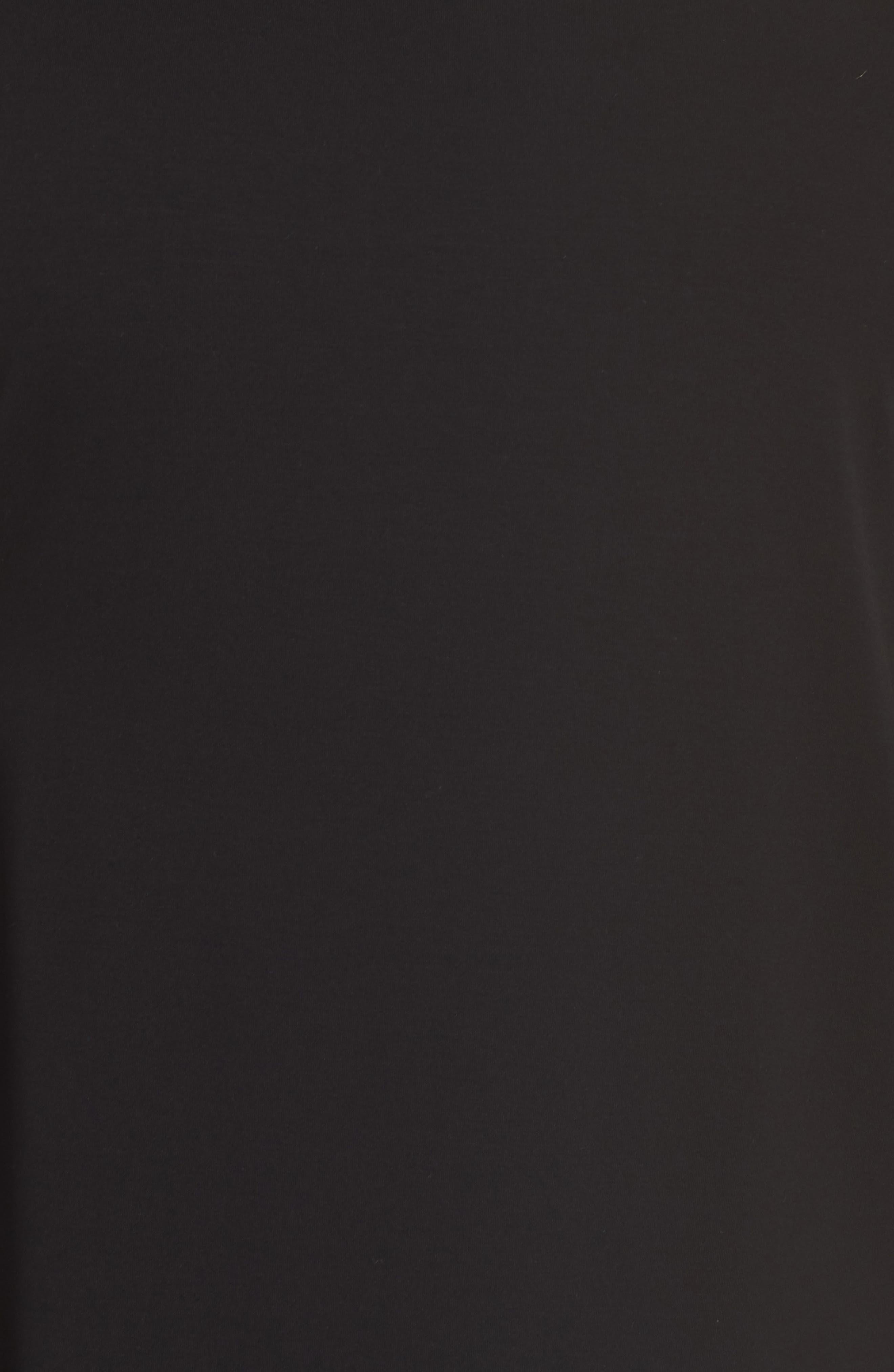 Alternate Image 5  - Eileen Fisher Asymmetrical Jersey Top (Plus Size)