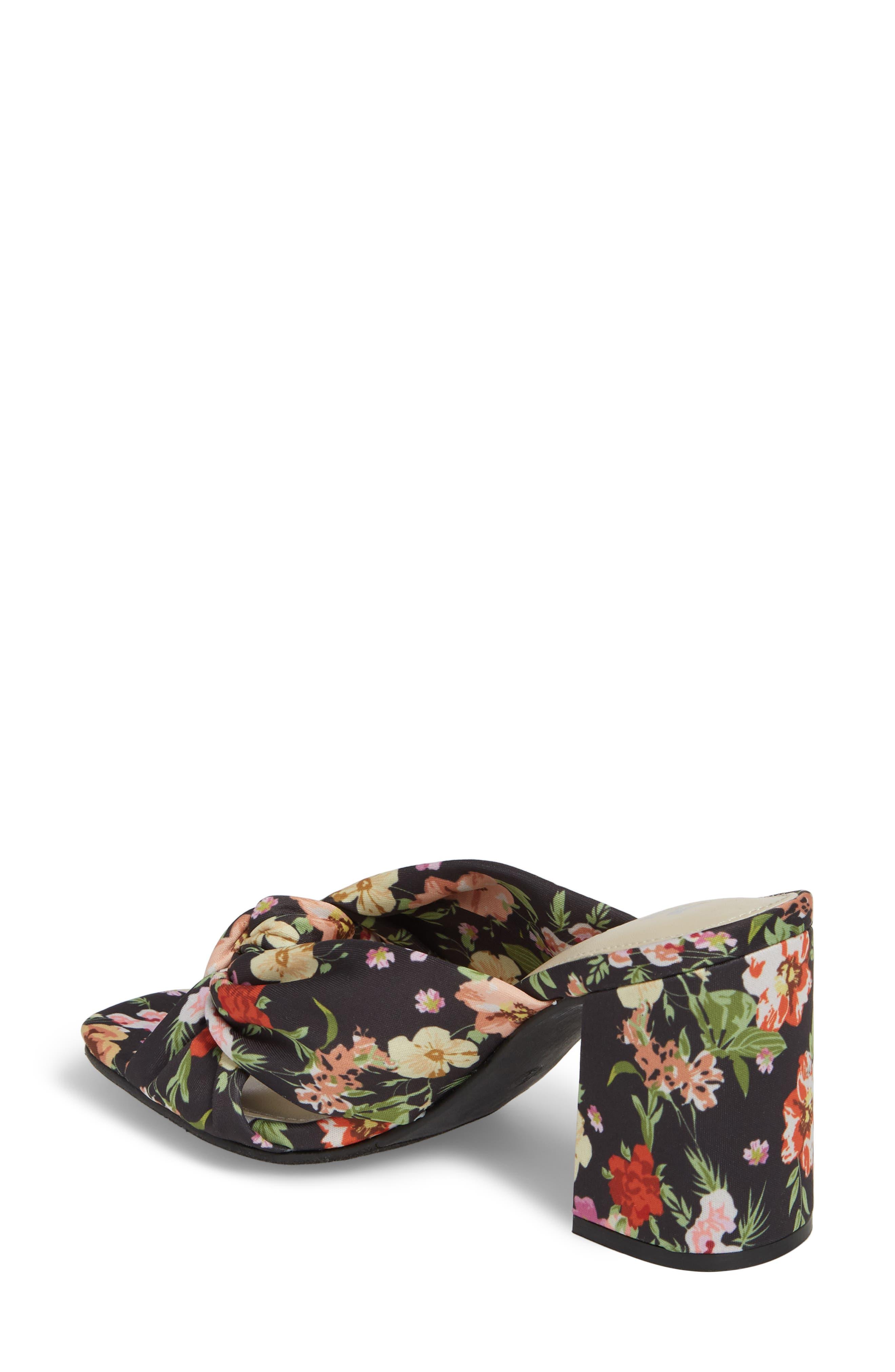 Collette Floral Sandal,                             Alternate thumbnail 2, color,                             Floral Matte