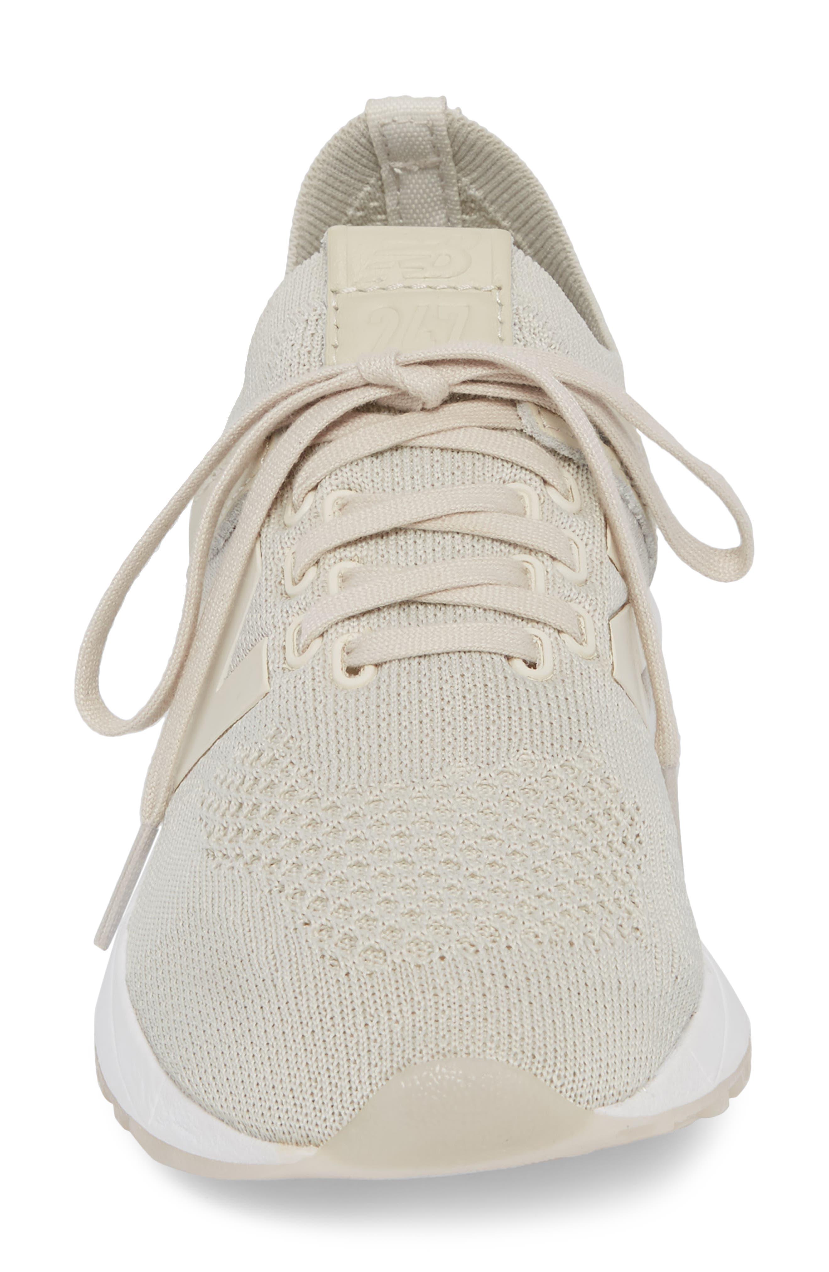 247 Decon Knit Sneaker,                             Alternate thumbnail 4, color,                             Moonbeam