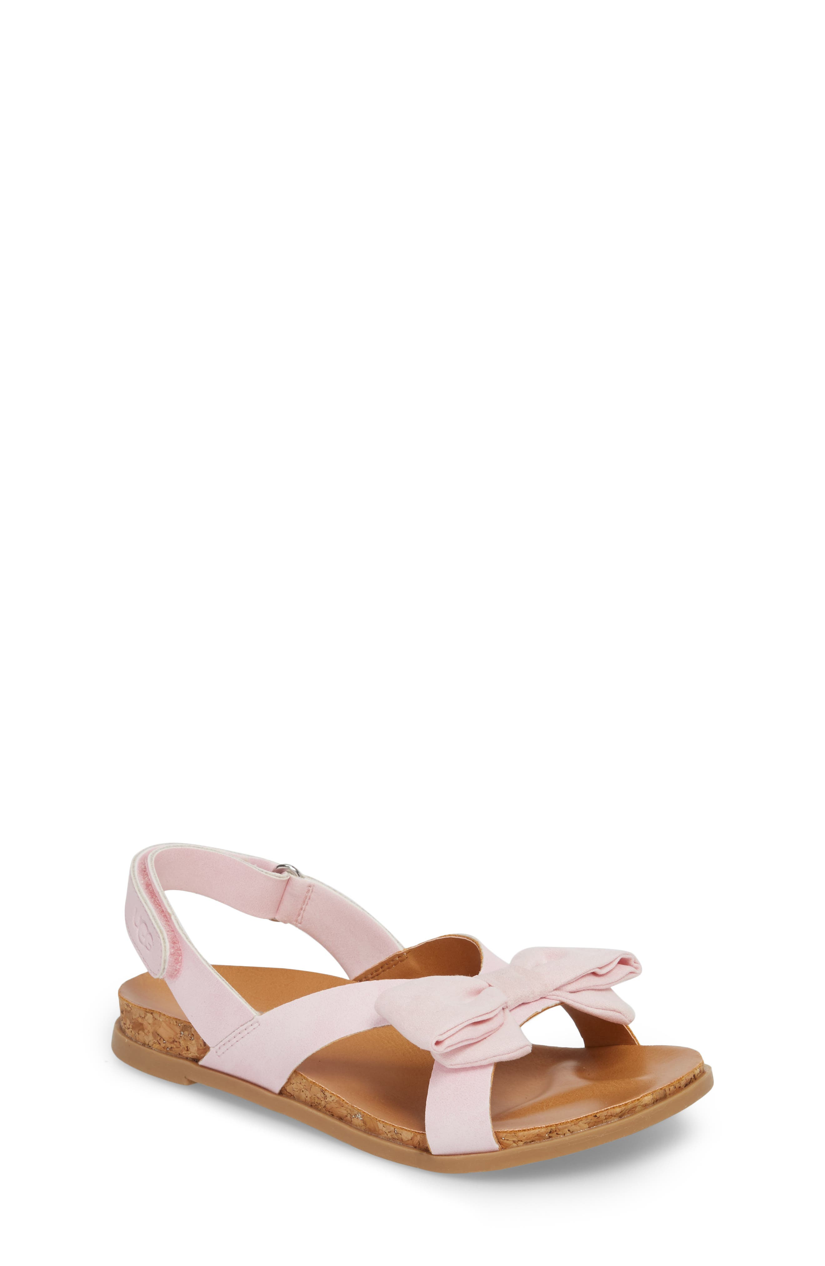 Fonda Sandal,                             Main thumbnail 1, color,                             Seashell Pink