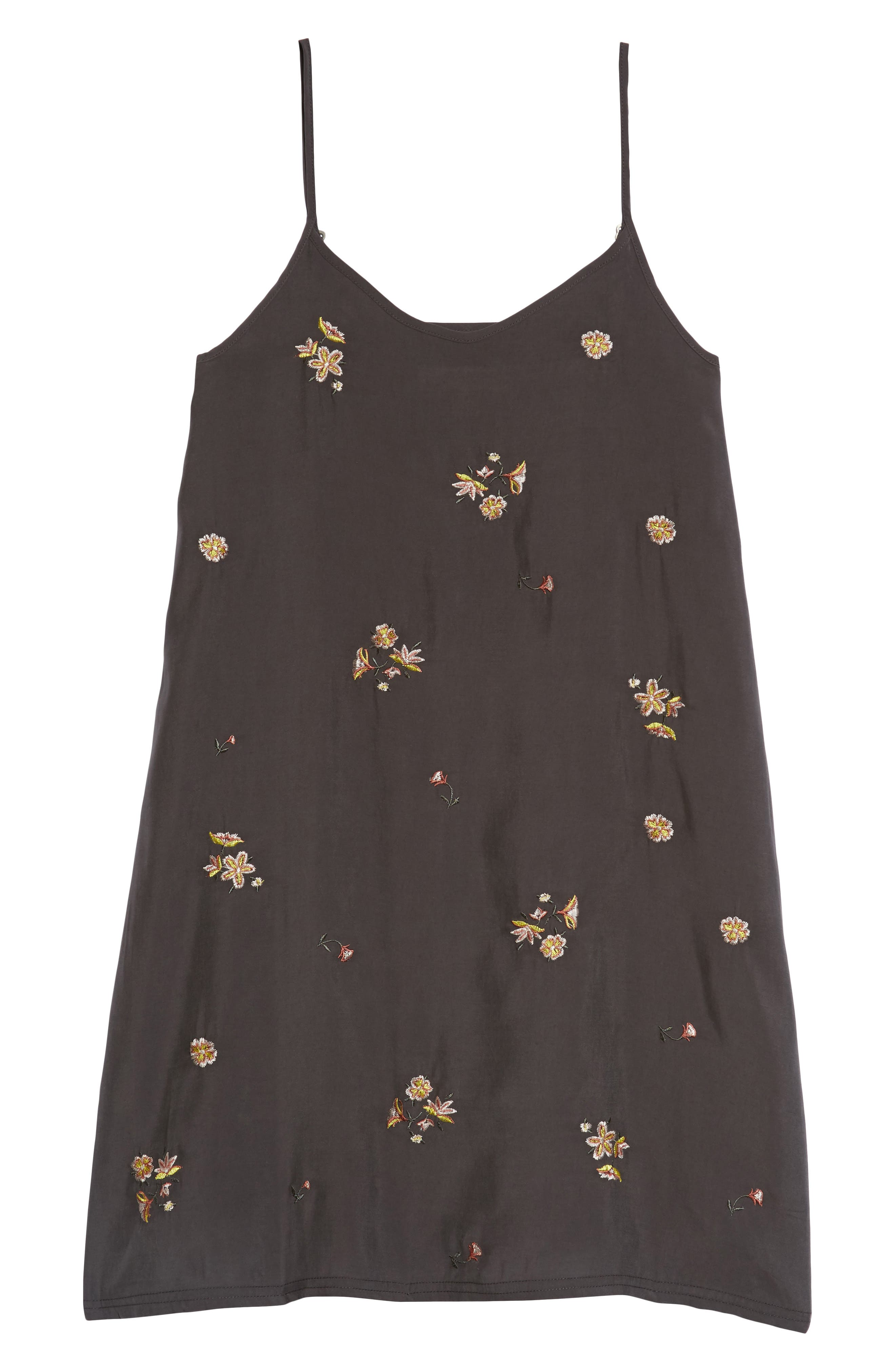 Treasure & Bond Floral Embroidered Shift Dress (Big Girls)