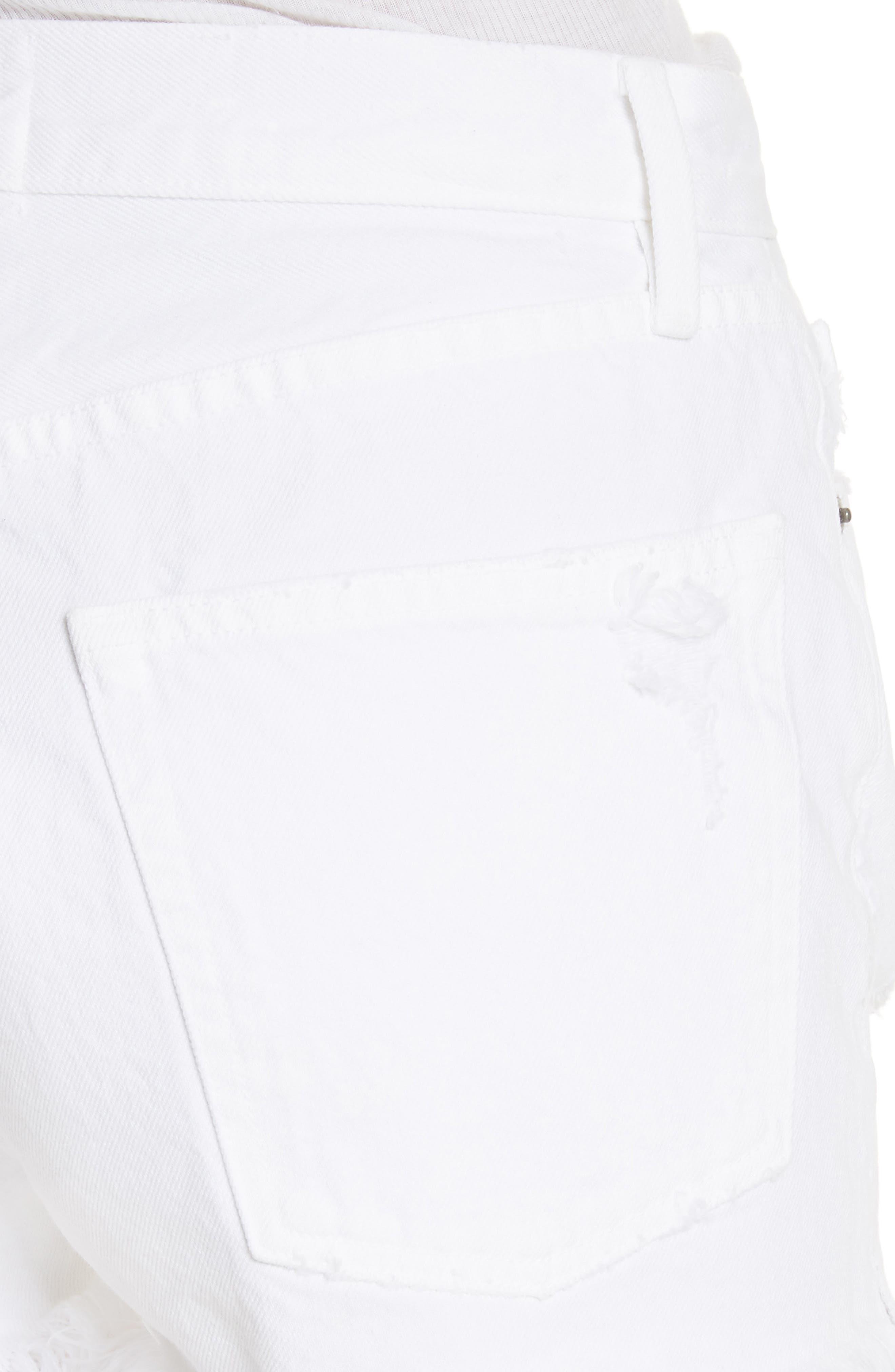 Rigid Re-Release - Le Original Shorts,                             Alternate thumbnail 4, color,                             Blanc Stockley