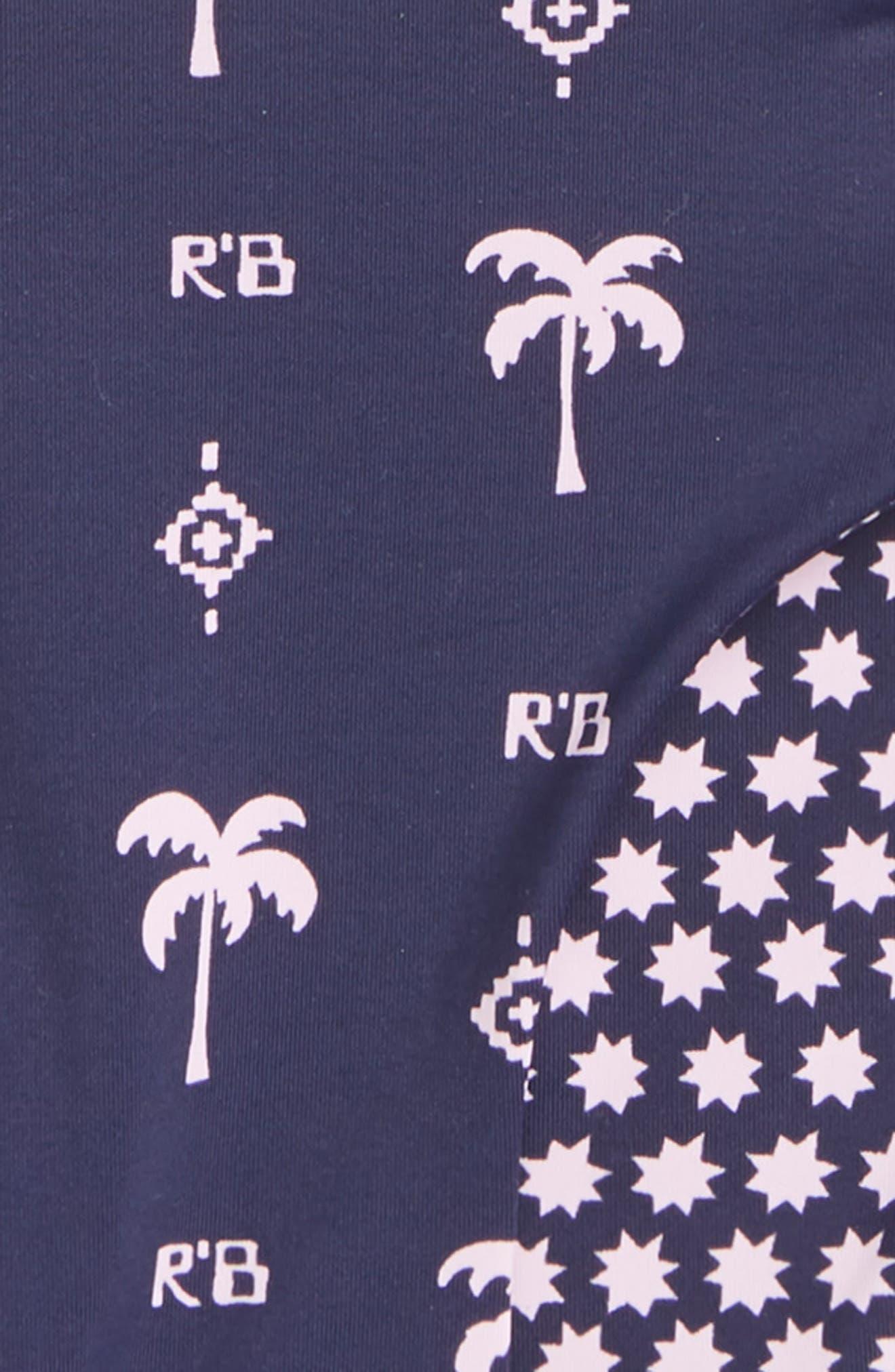 Scotch R'Belle Reversible Two-Piece Swimsuit,                             Alternate thumbnail 3, color,                             Blue Print
