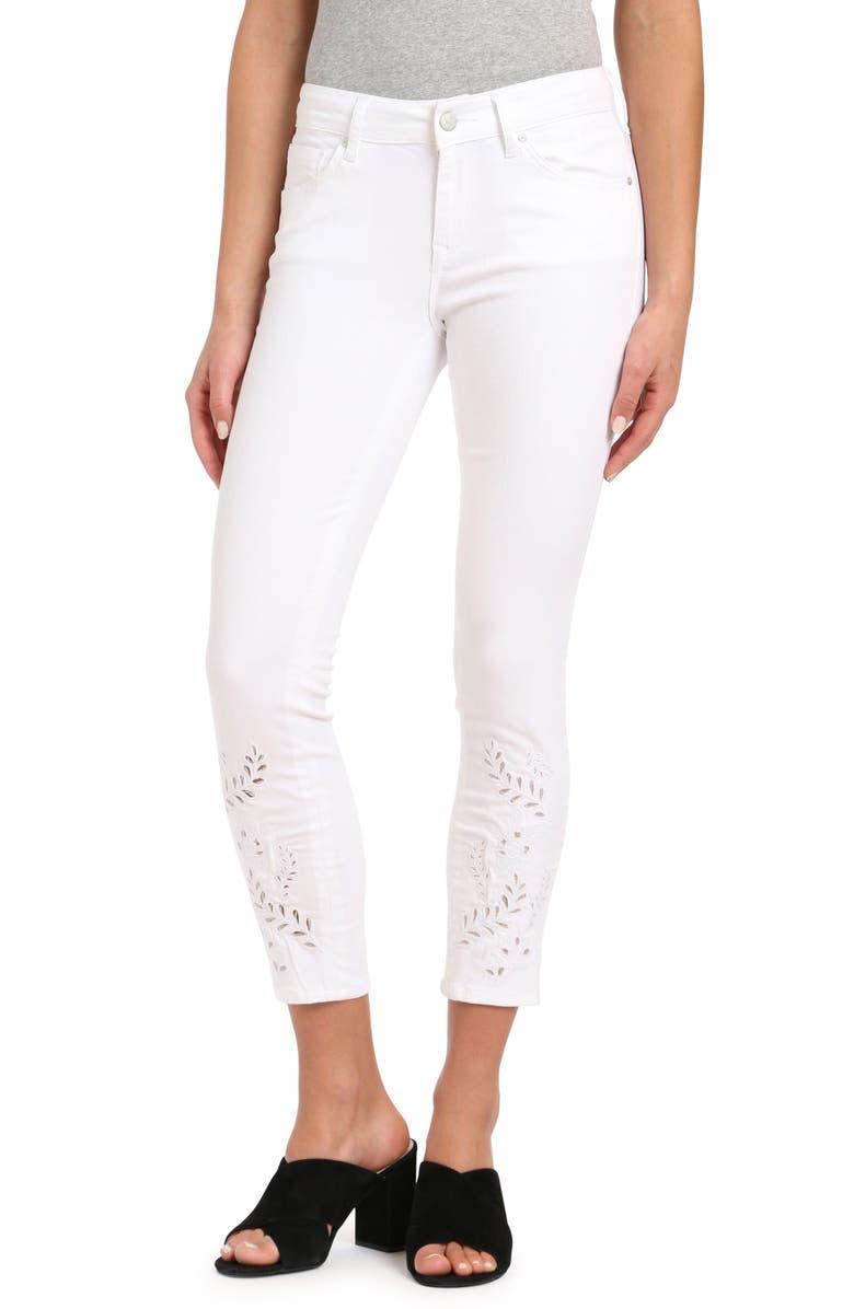 Mavi Jeans ADRIANA EYELET ANKLE SUPER SKINNY JEANS