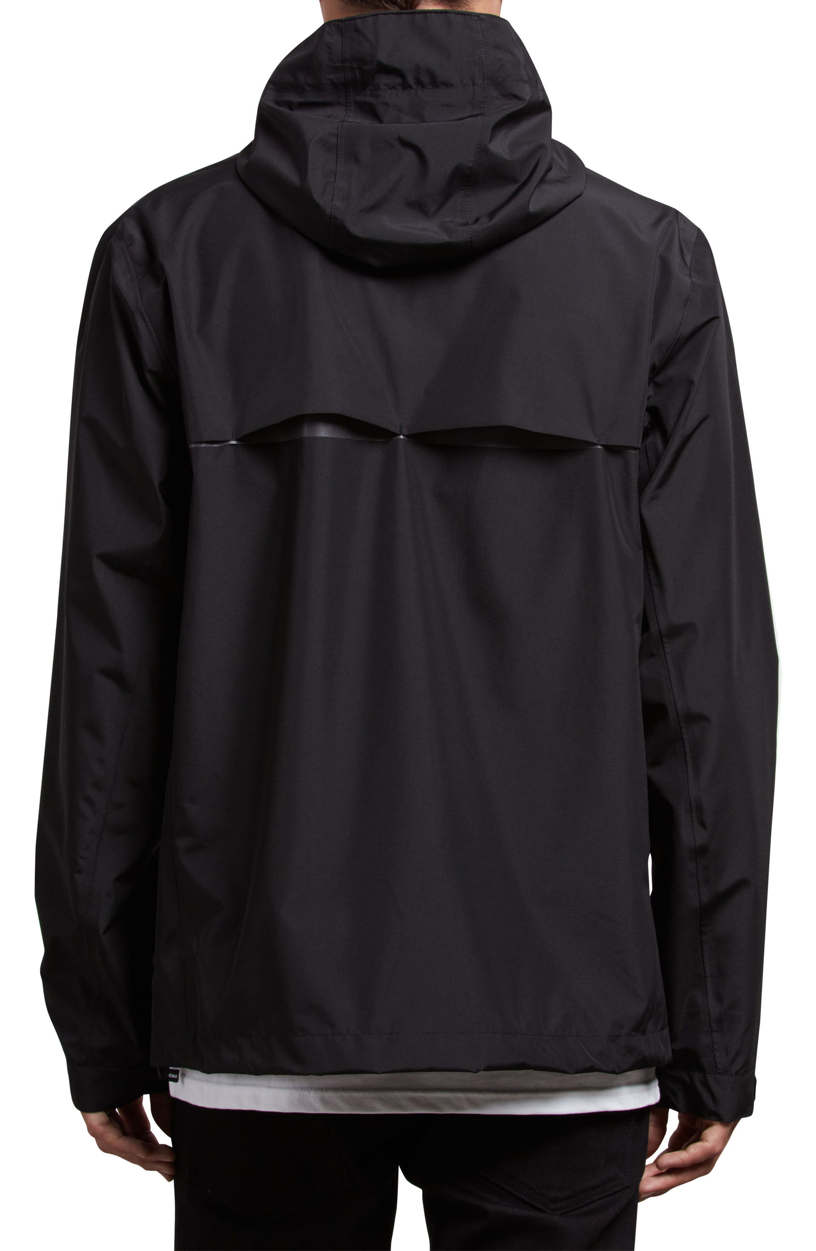 Stone Storm Jacket,                             Alternate thumbnail 2, color,                             Black