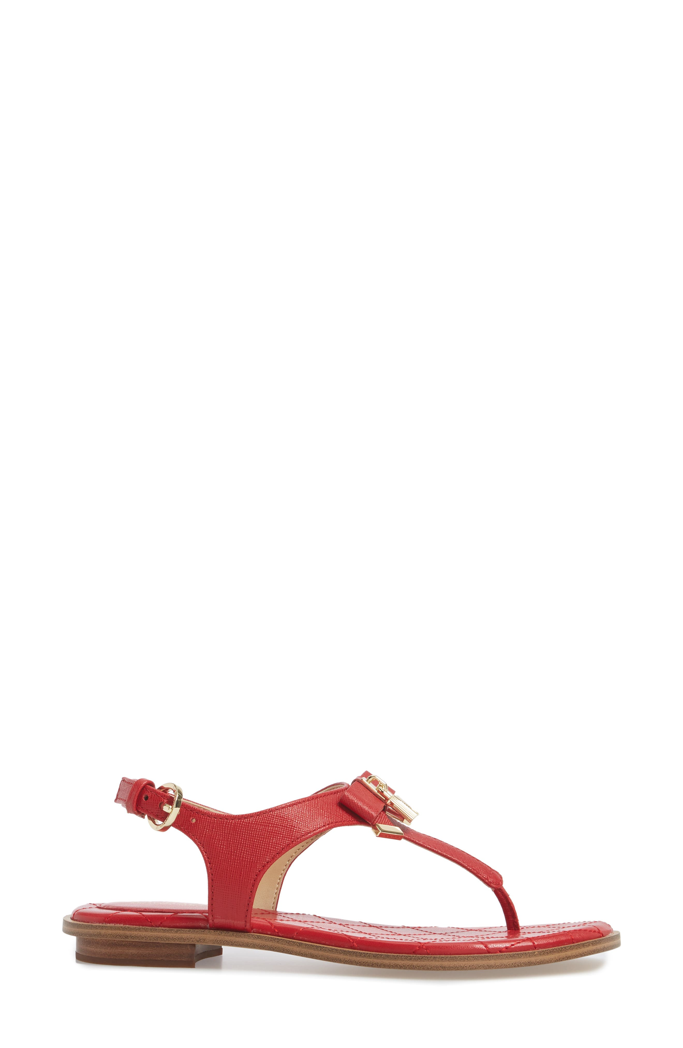 Alice Sandal,                             Alternate thumbnail 3, color,                             Bright Red