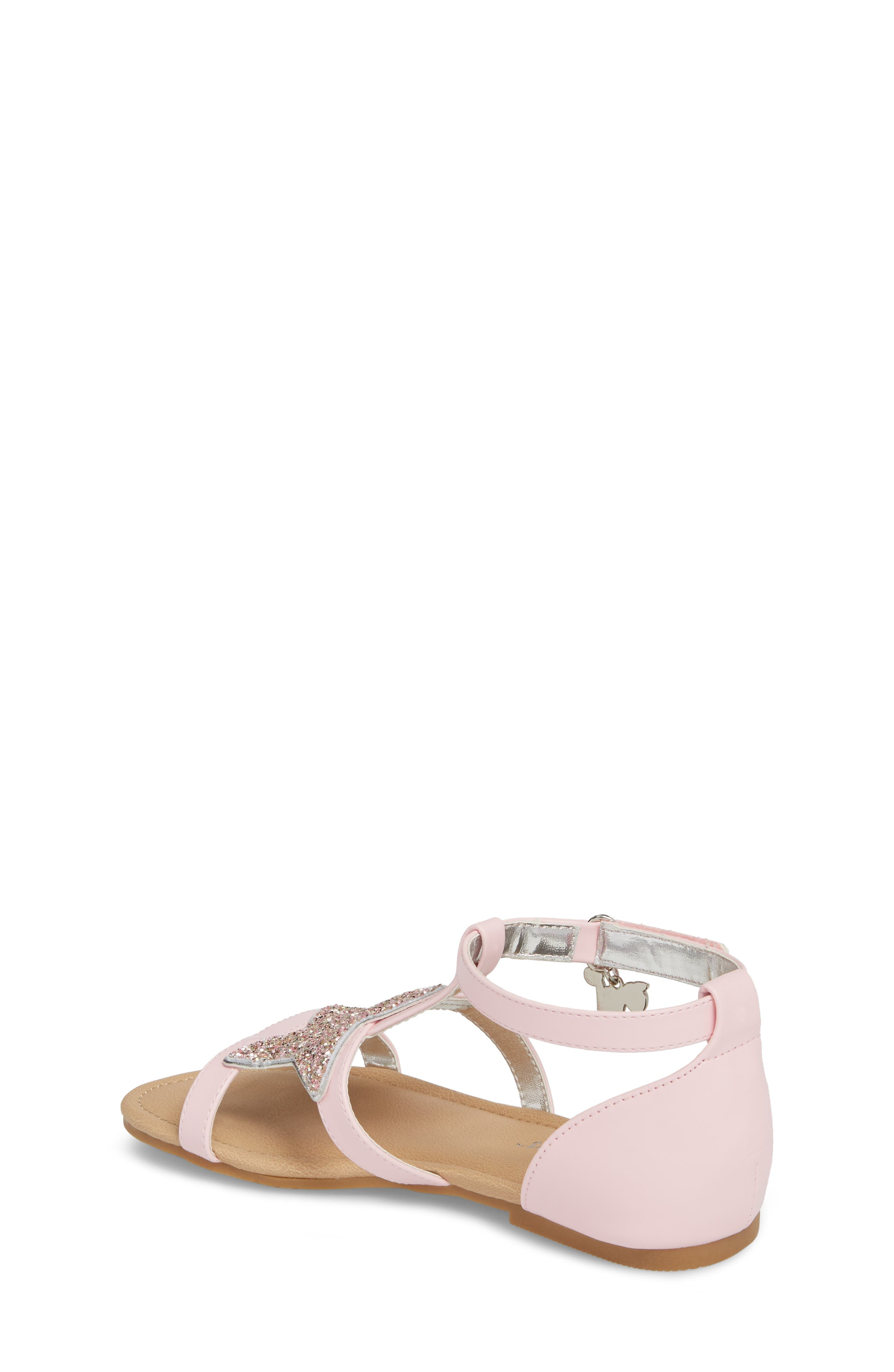 Emerson Glitter Star Sandal,                             Alternate thumbnail 2, color,                             Orchid Pink