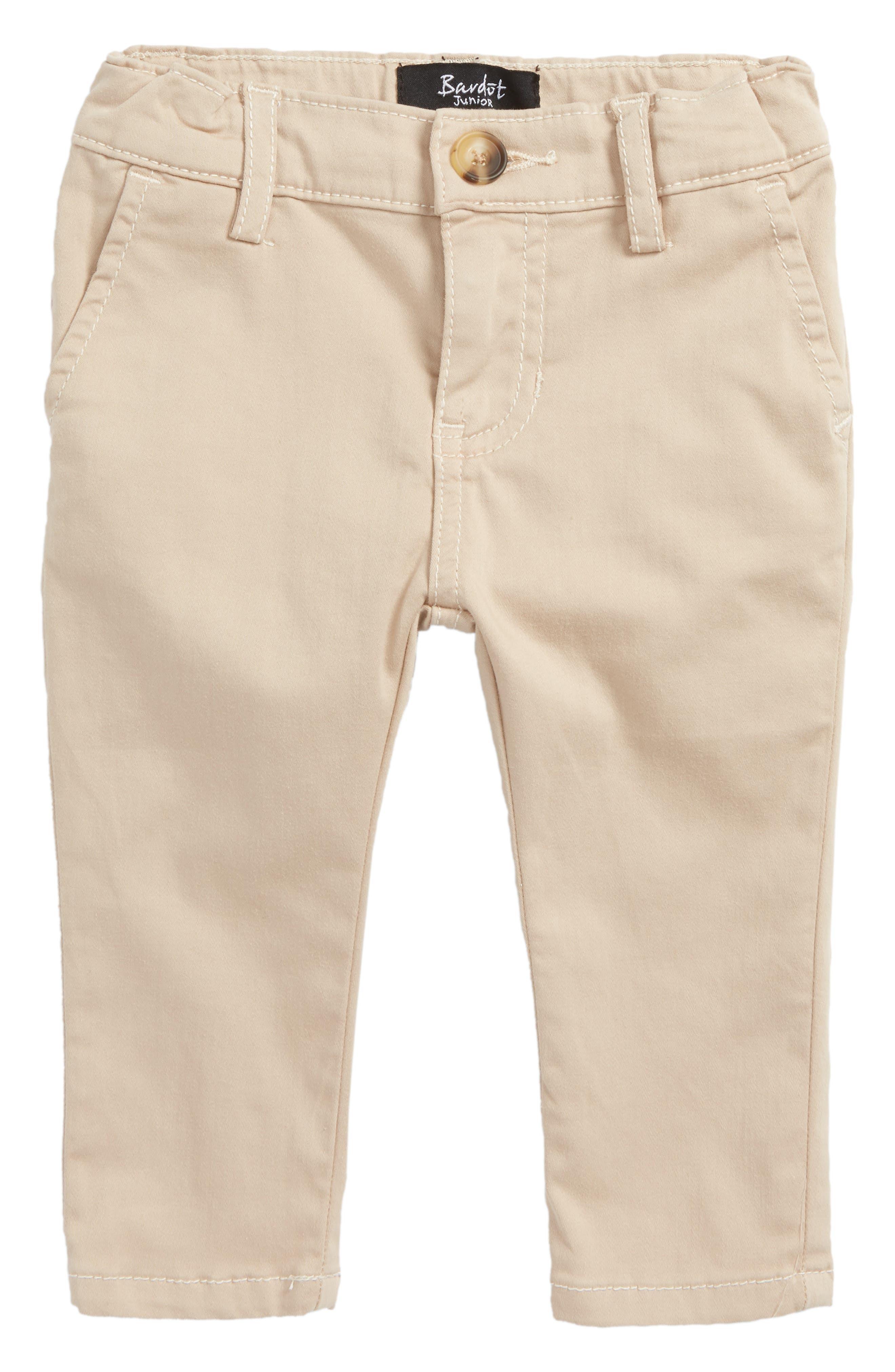 Alternate Image 1 Selected - Bardot Junior Jack Chino Pants (Baby Boys & Toddler Boys)