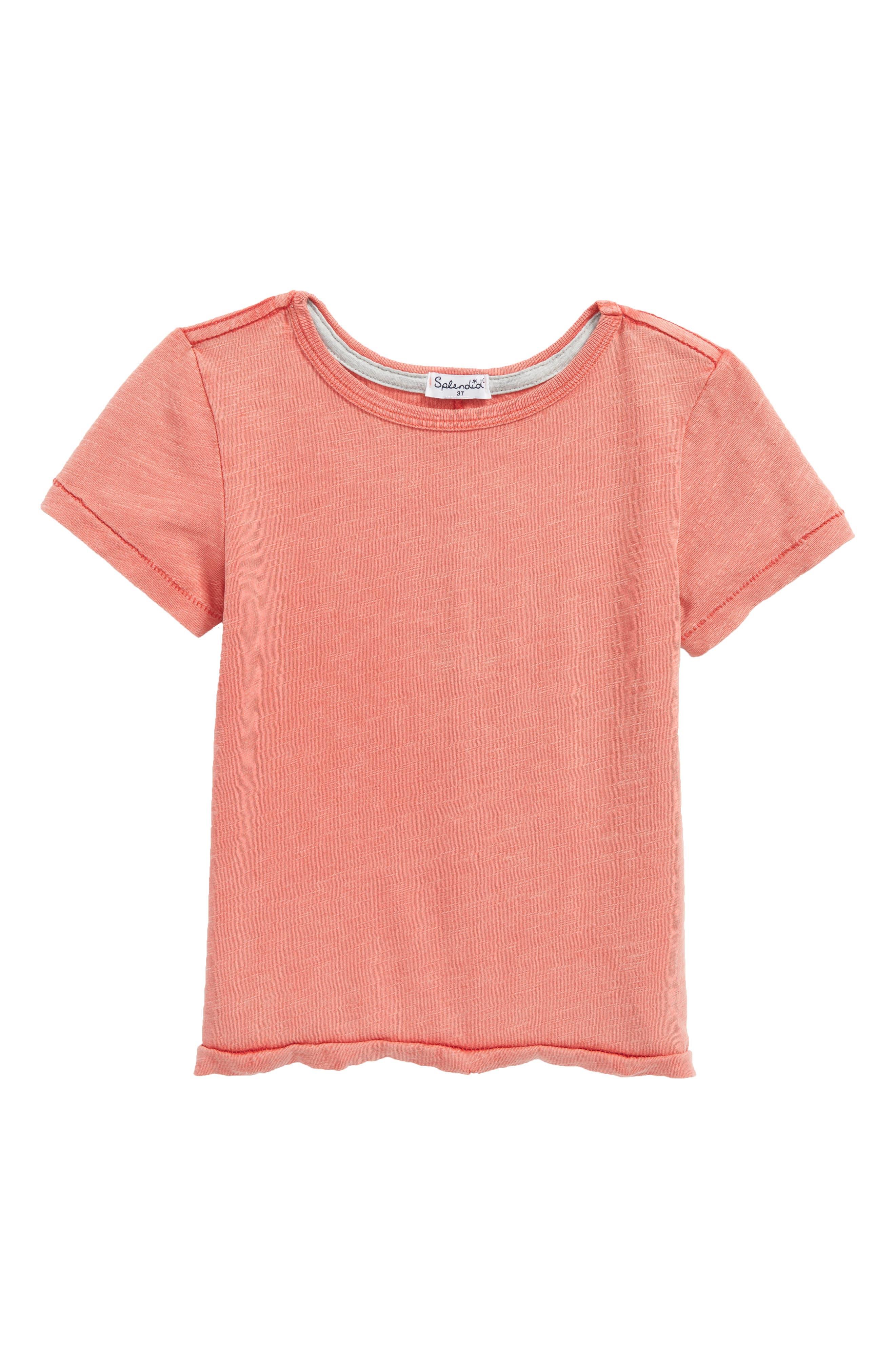 Main Image - Splendid Washed Slub Jersey T-Shirt (Toddler Boys & Little Boys)