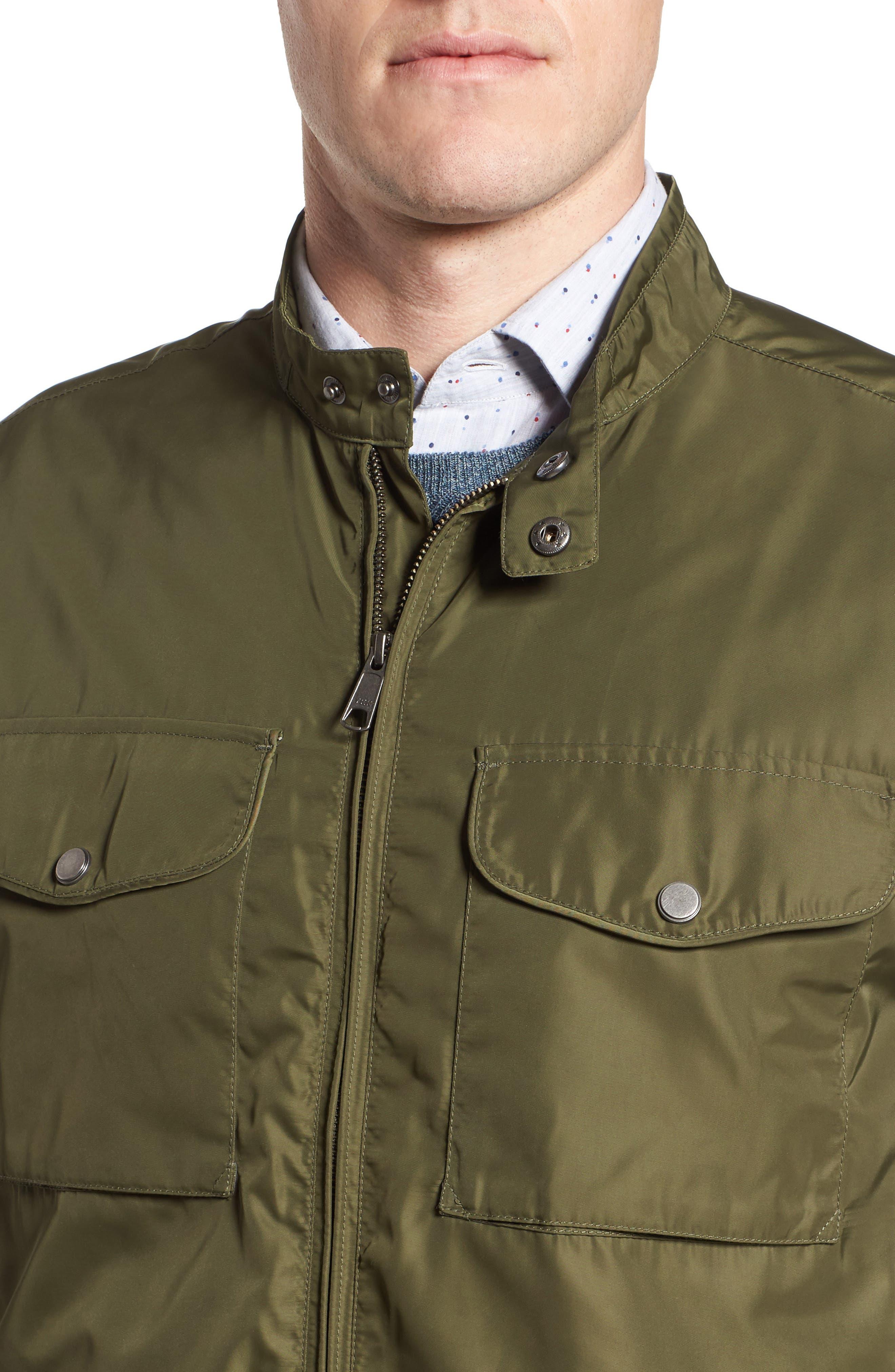 Utility Jacket,                             Alternate thumbnail 4, color,                             Green Bronze