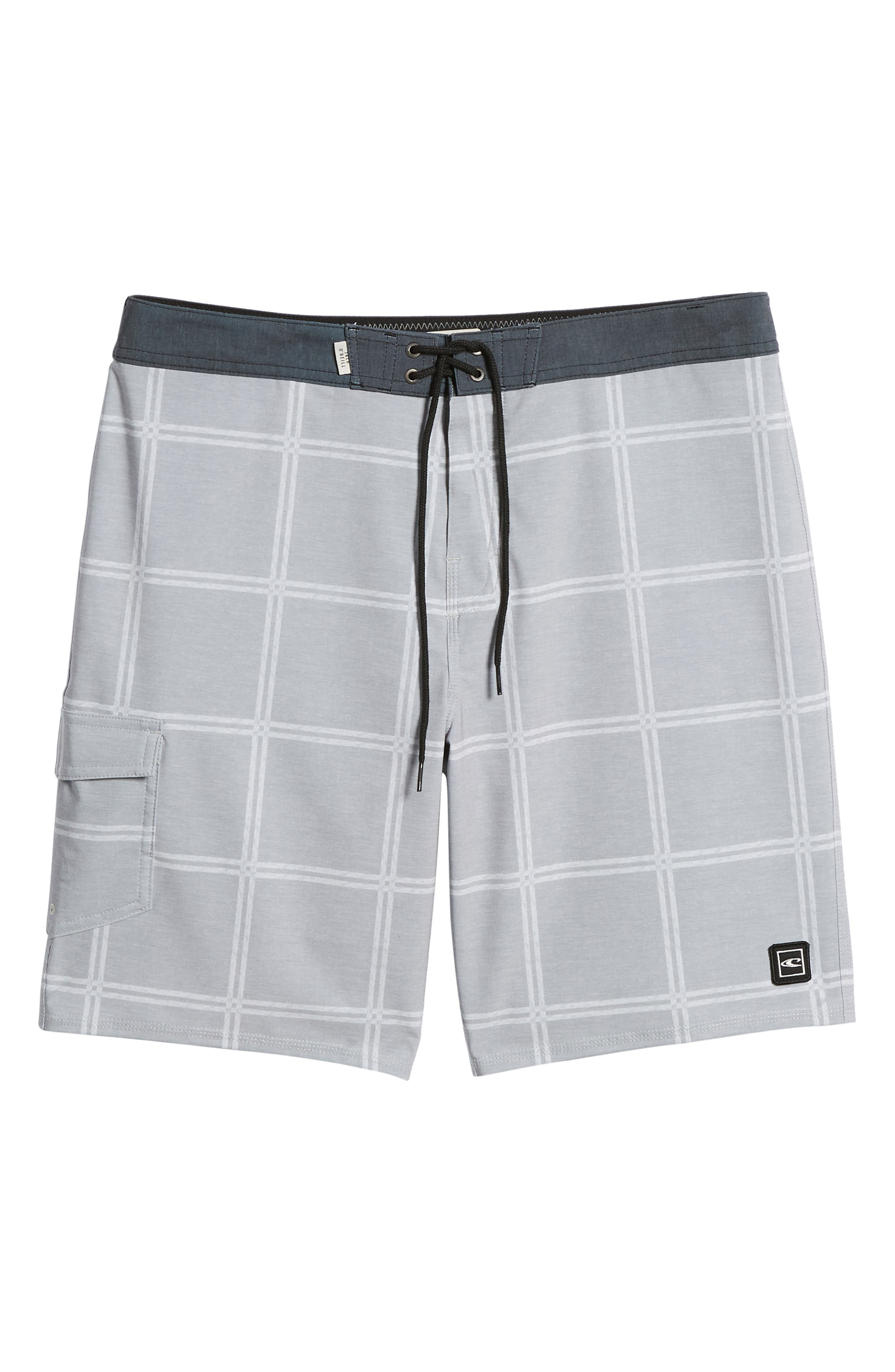 Head High Board Shorts,                             Alternate thumbnail 6, color,                             Light Grey