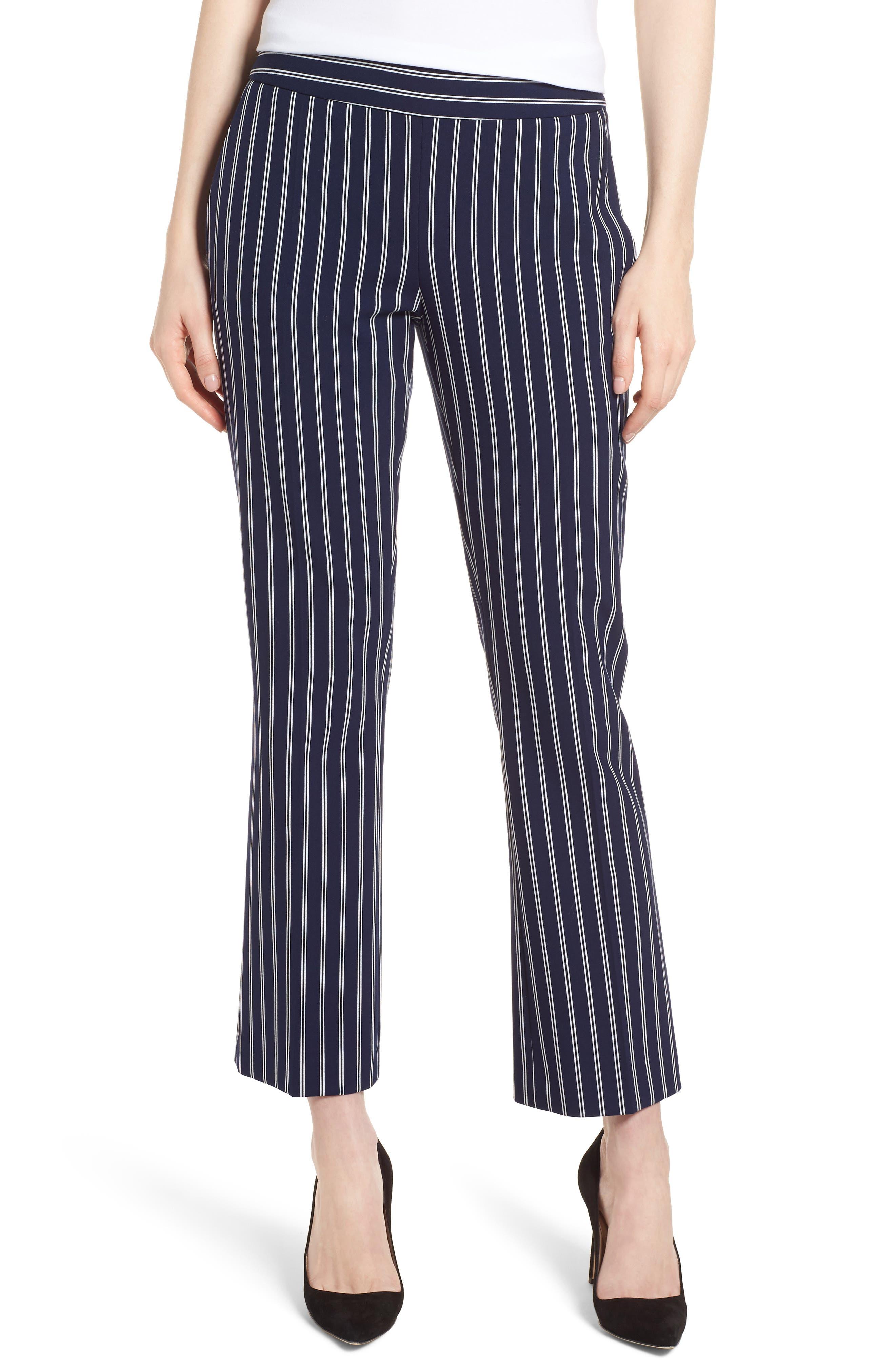Tebella Stripe Pants,                         Main,                         color, Blue Fantasy
