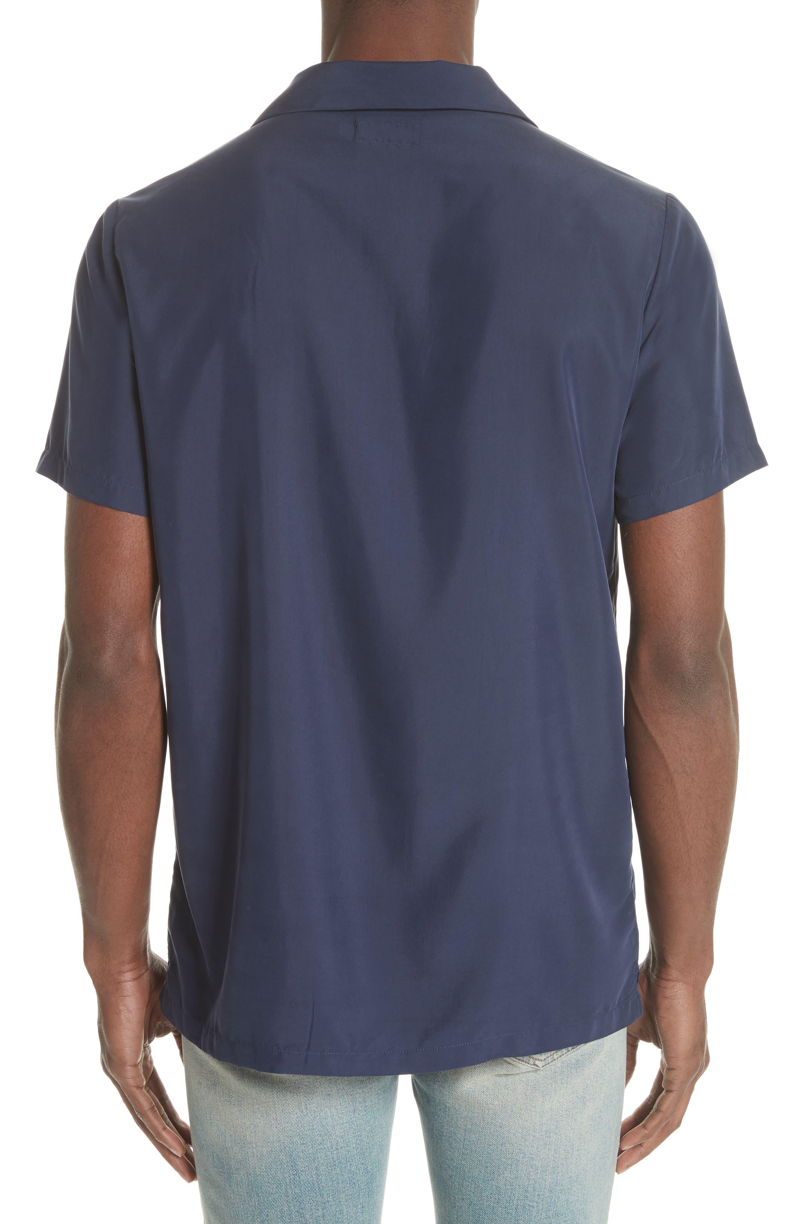 Vacation Shirt,                             Alternate thumbnail 3, color,                             Deep Navy