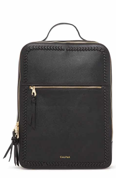 5375377bba Calpak Kaya Faux Leather Laptop Backpack