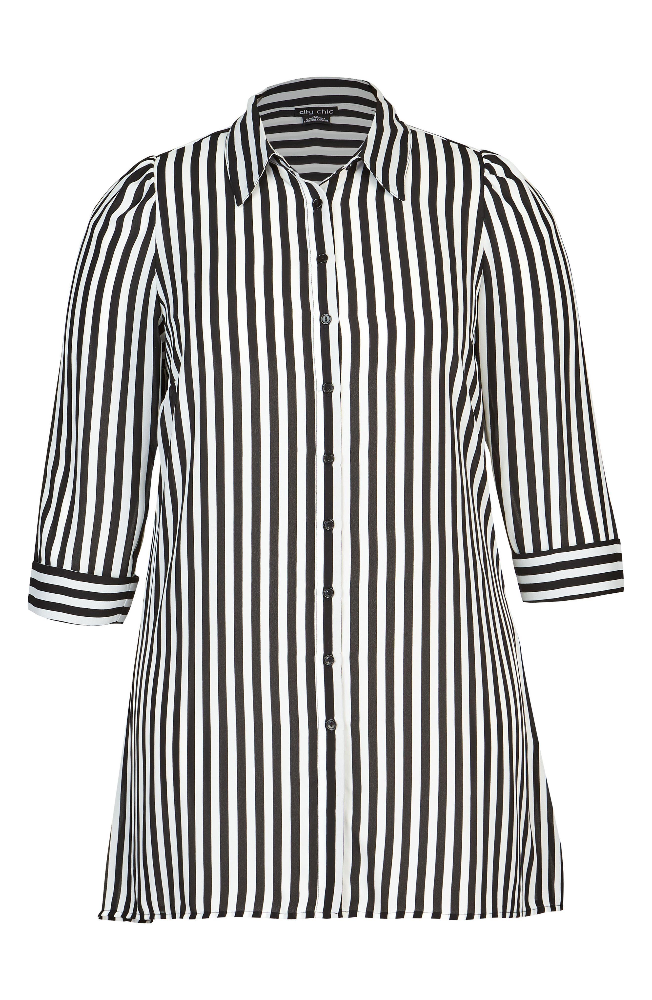 Stripe Love Tunic,                             Alternate thumbnail 3, color,                             Stripe