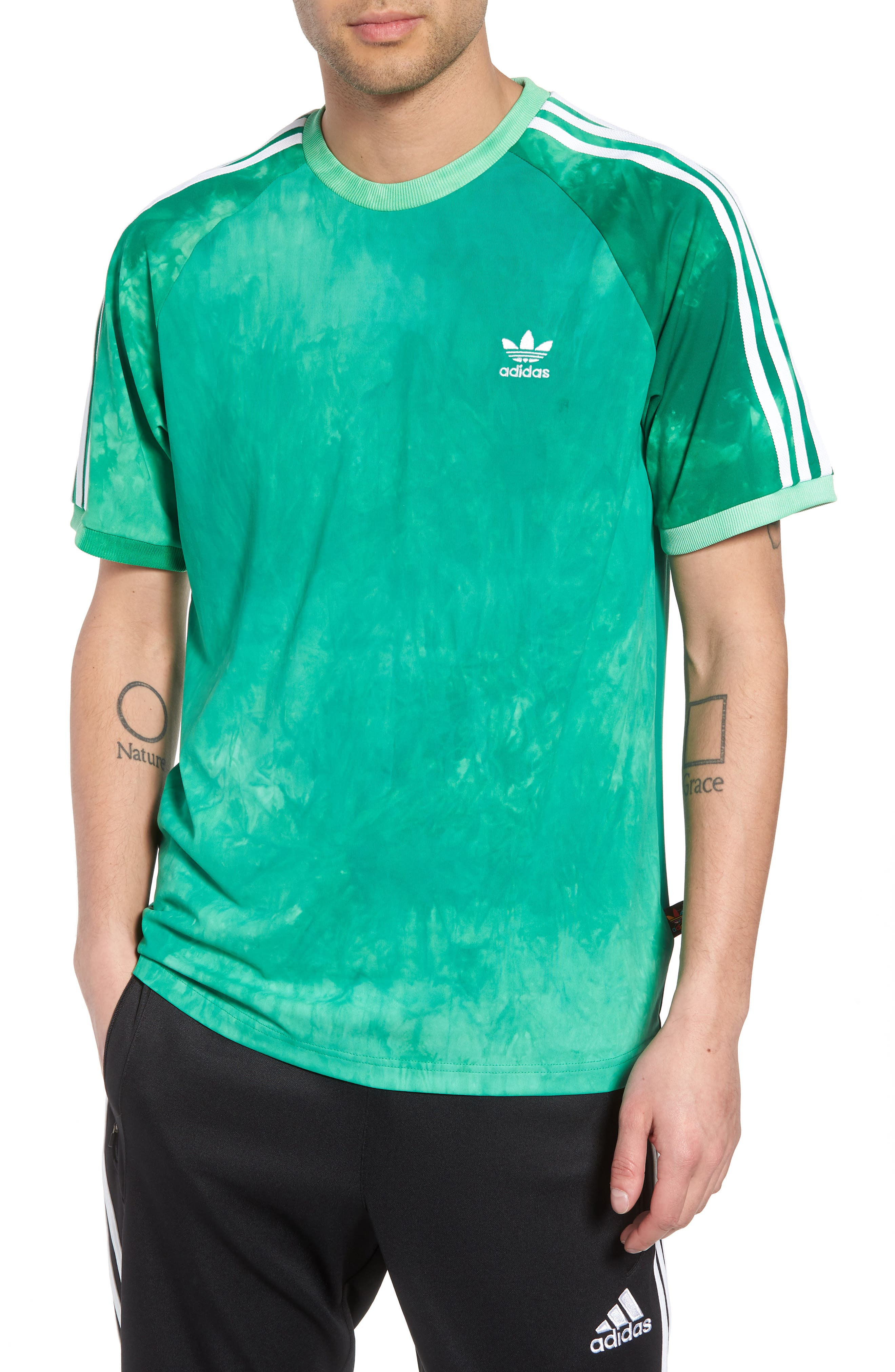 Hu Holi T-Shirt,                             Main thumbnail 1, color,                             Green