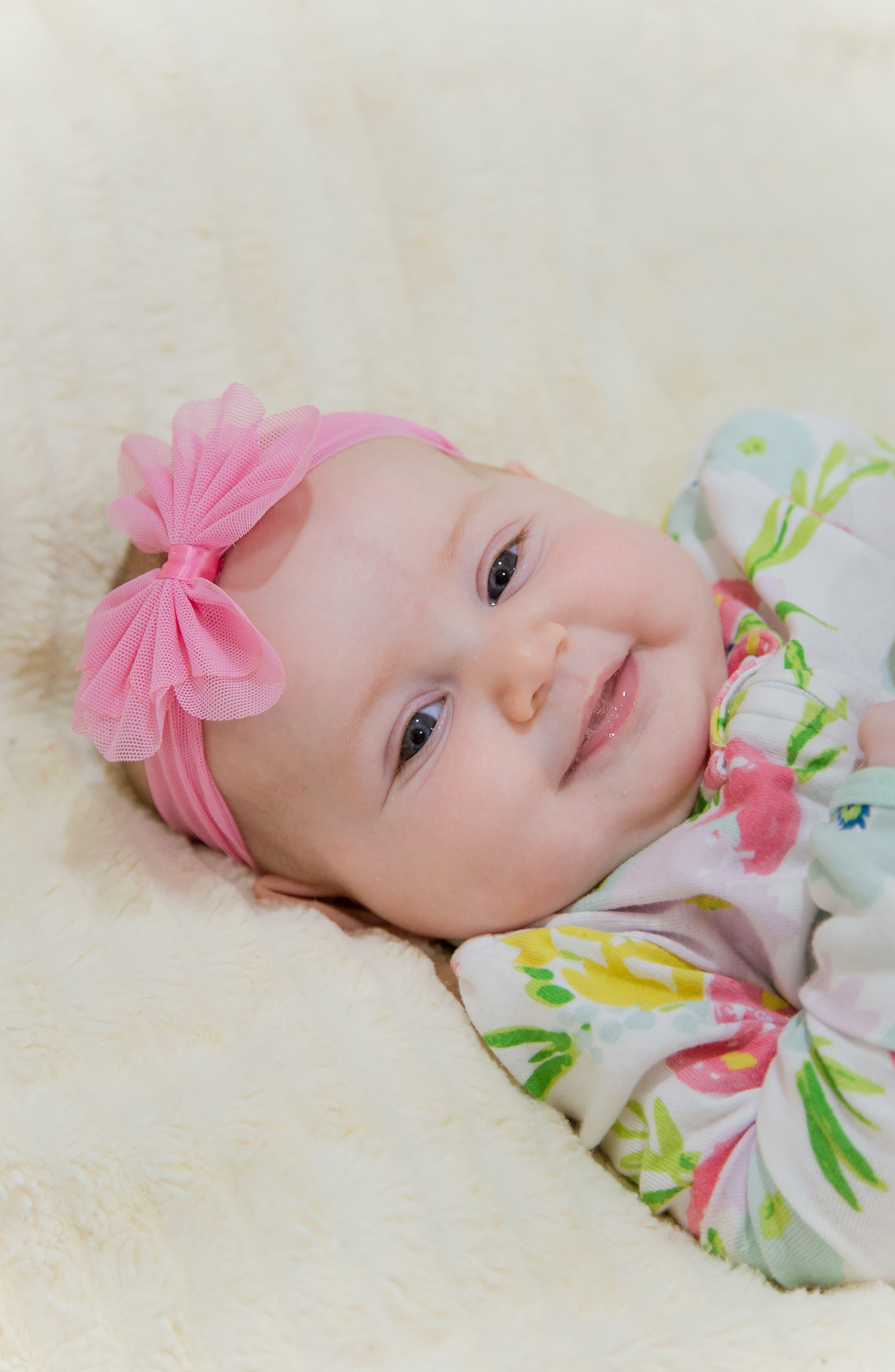 Alternate Image 3  - PLH Bows & Laces Mesh Bow Headband