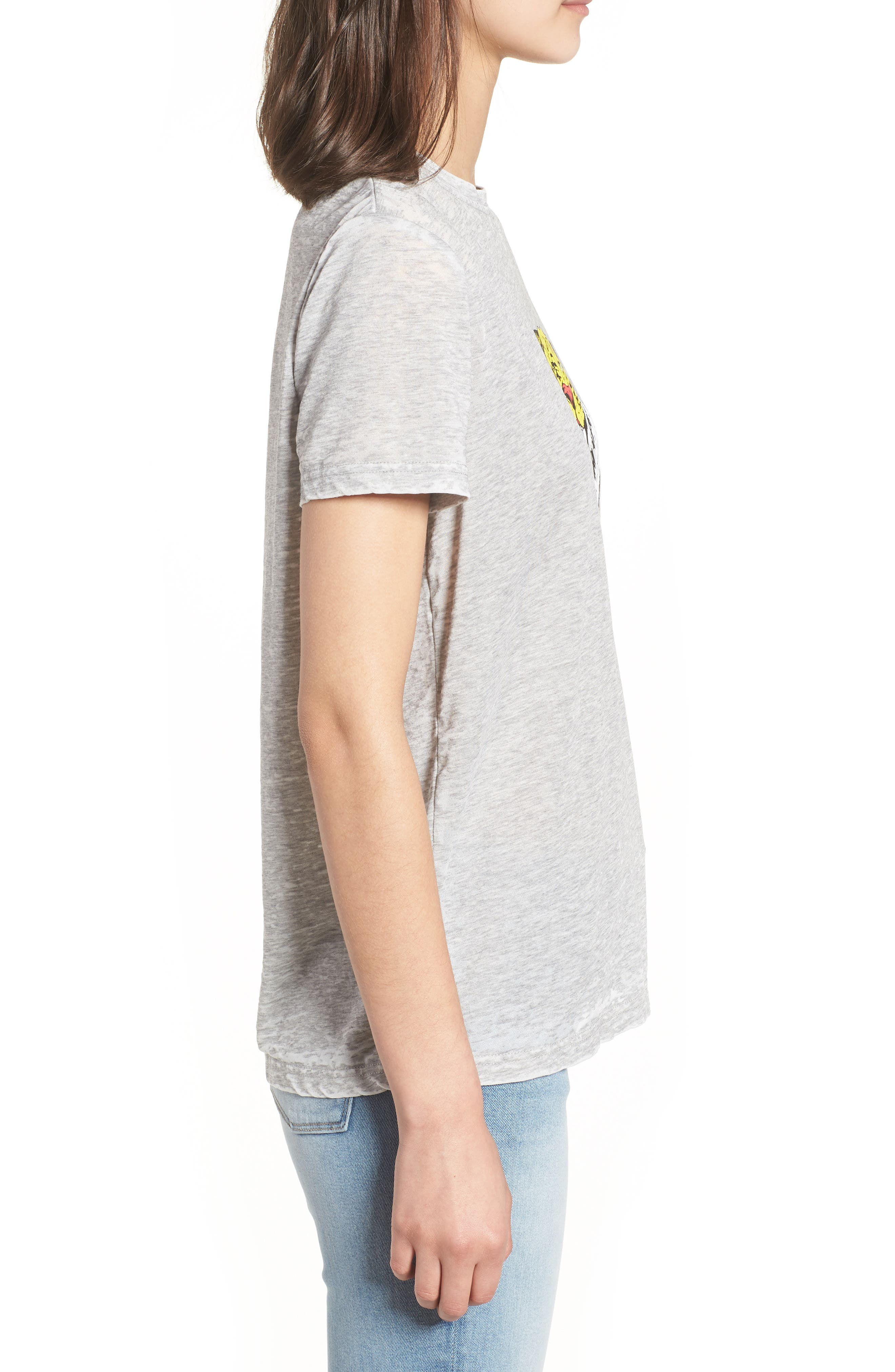 Graphic Tee,                             Alternate thumbnail 3, color,                             Worn Out Grey